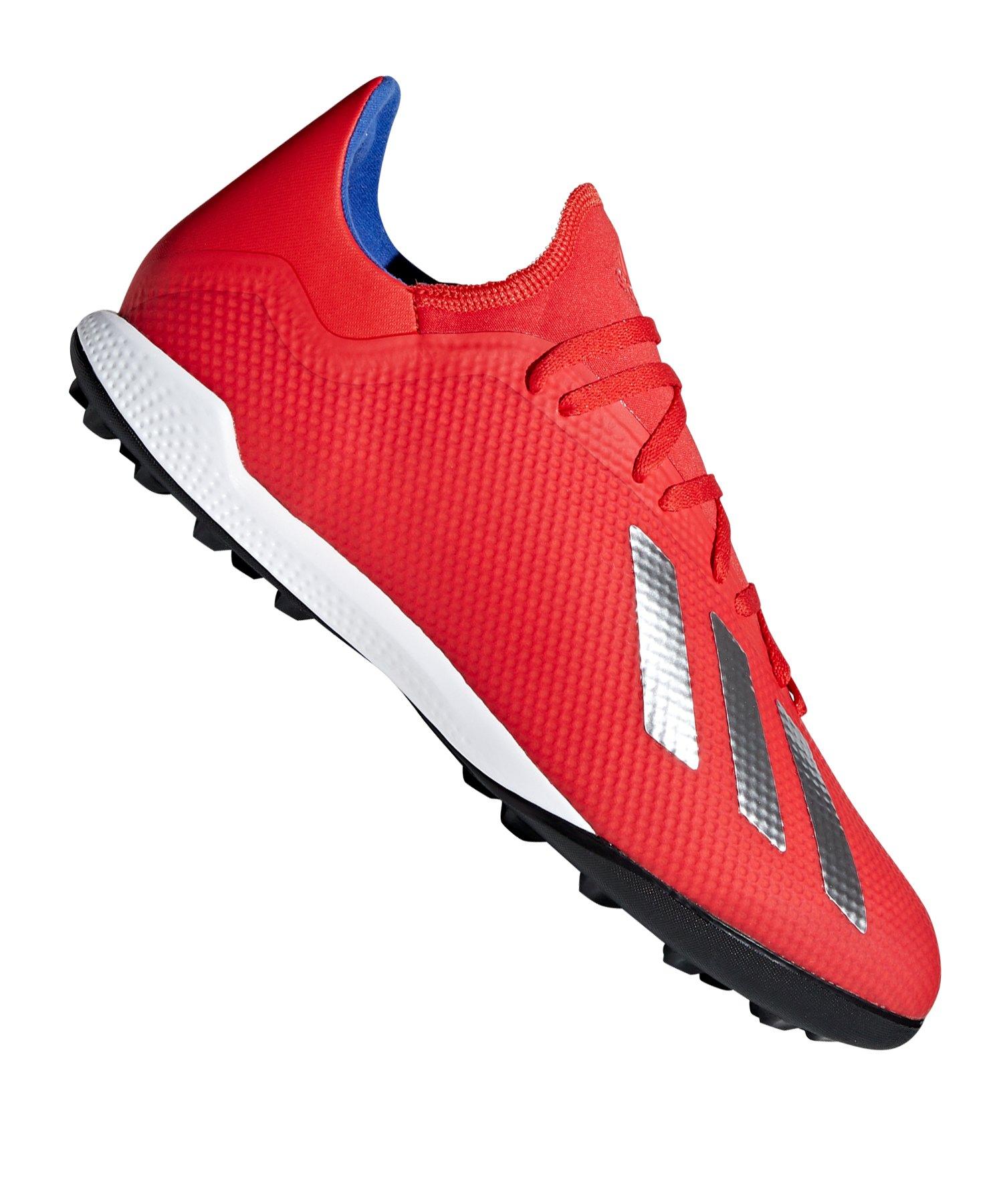 adidas X 18.3 TF Rot Blau - rot