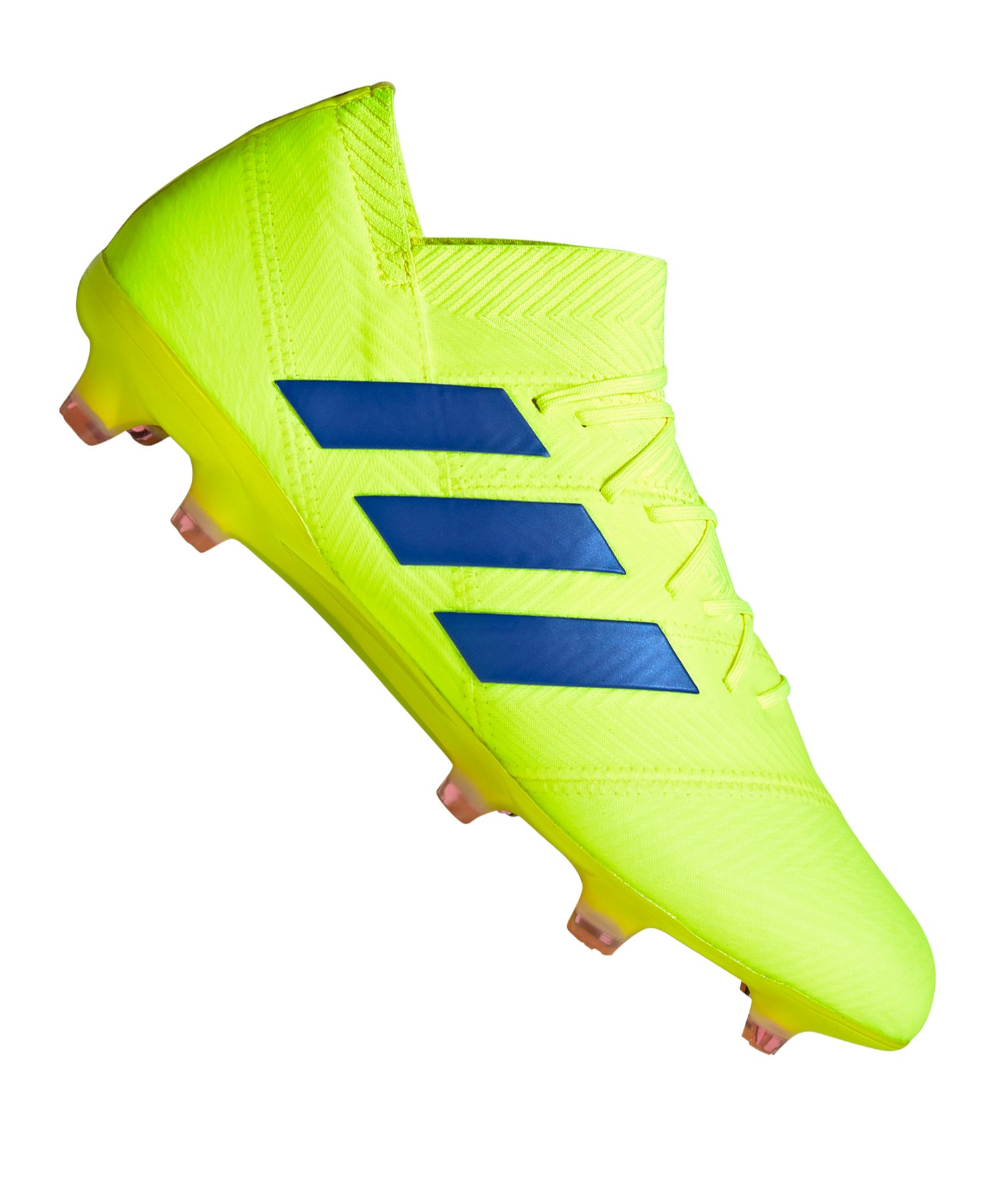 adidas NEMEZIZ 18.1 FG Gelb Blau - gelb