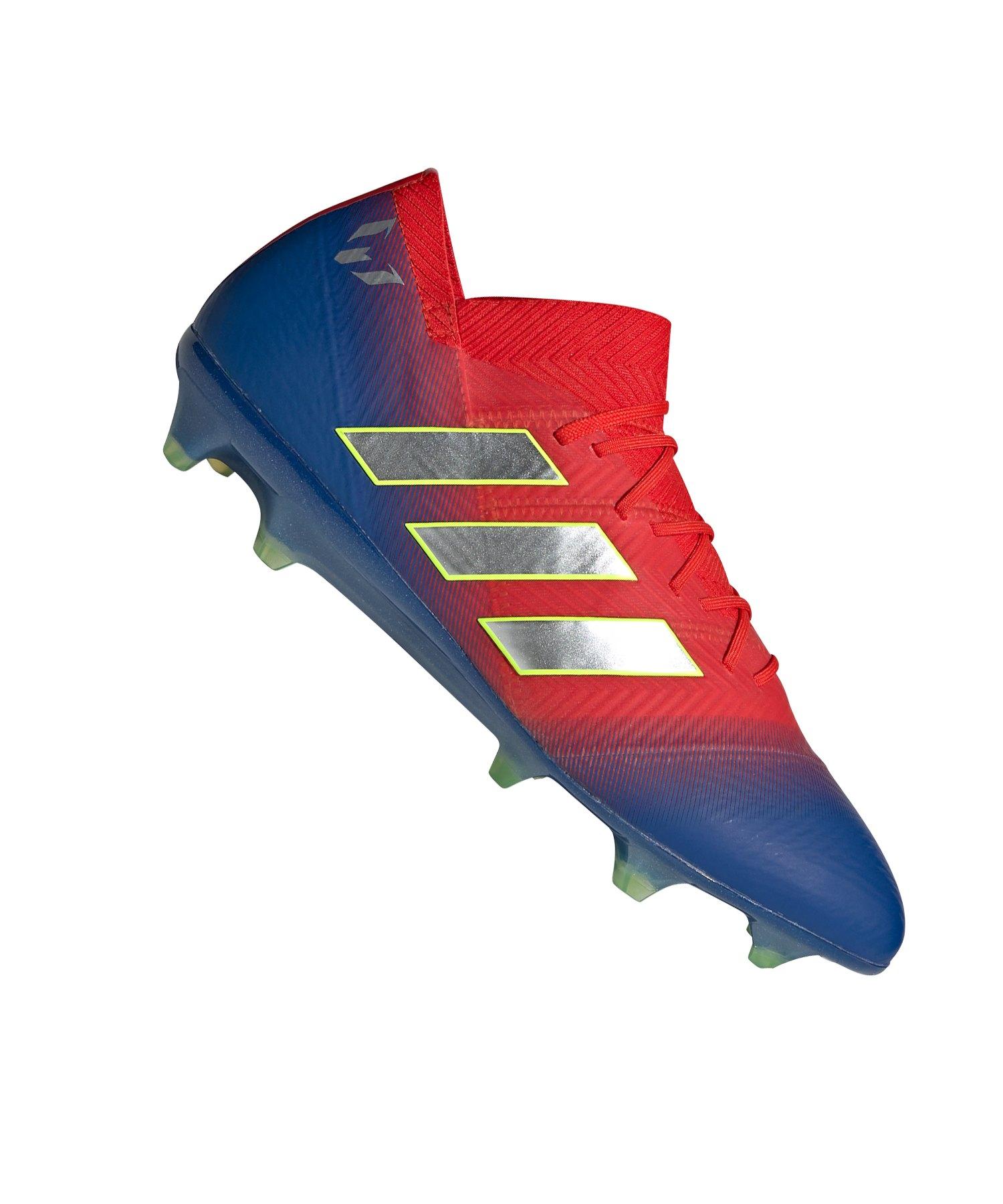 adidas NEMEZIZ Messi 18.1 FG Rot Blau - rot