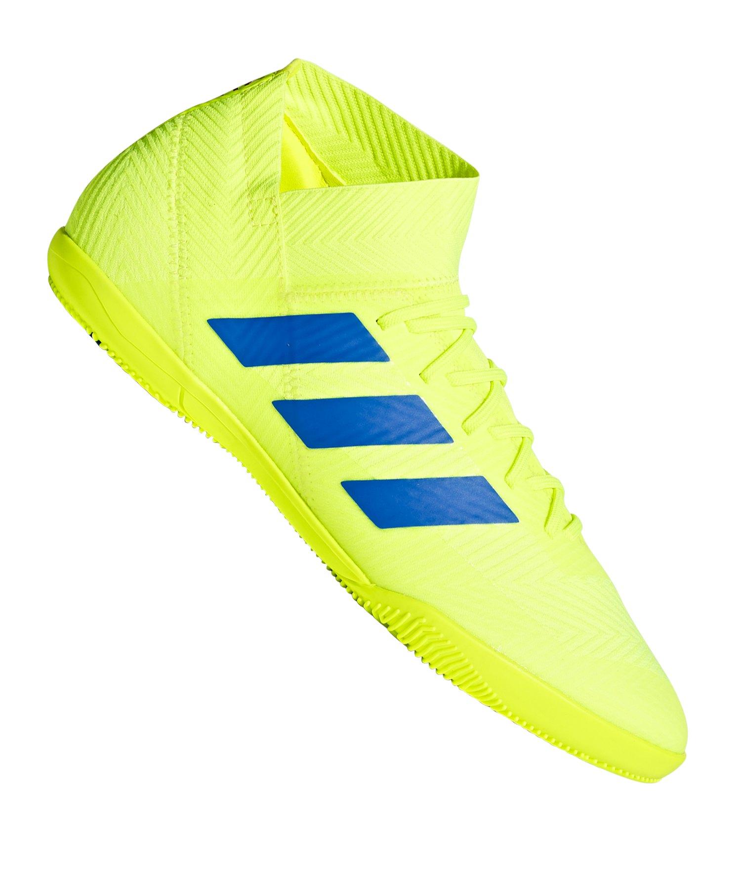 adidas NEMEZIZ 18.3 IN Halle Gelb Blau - gelb