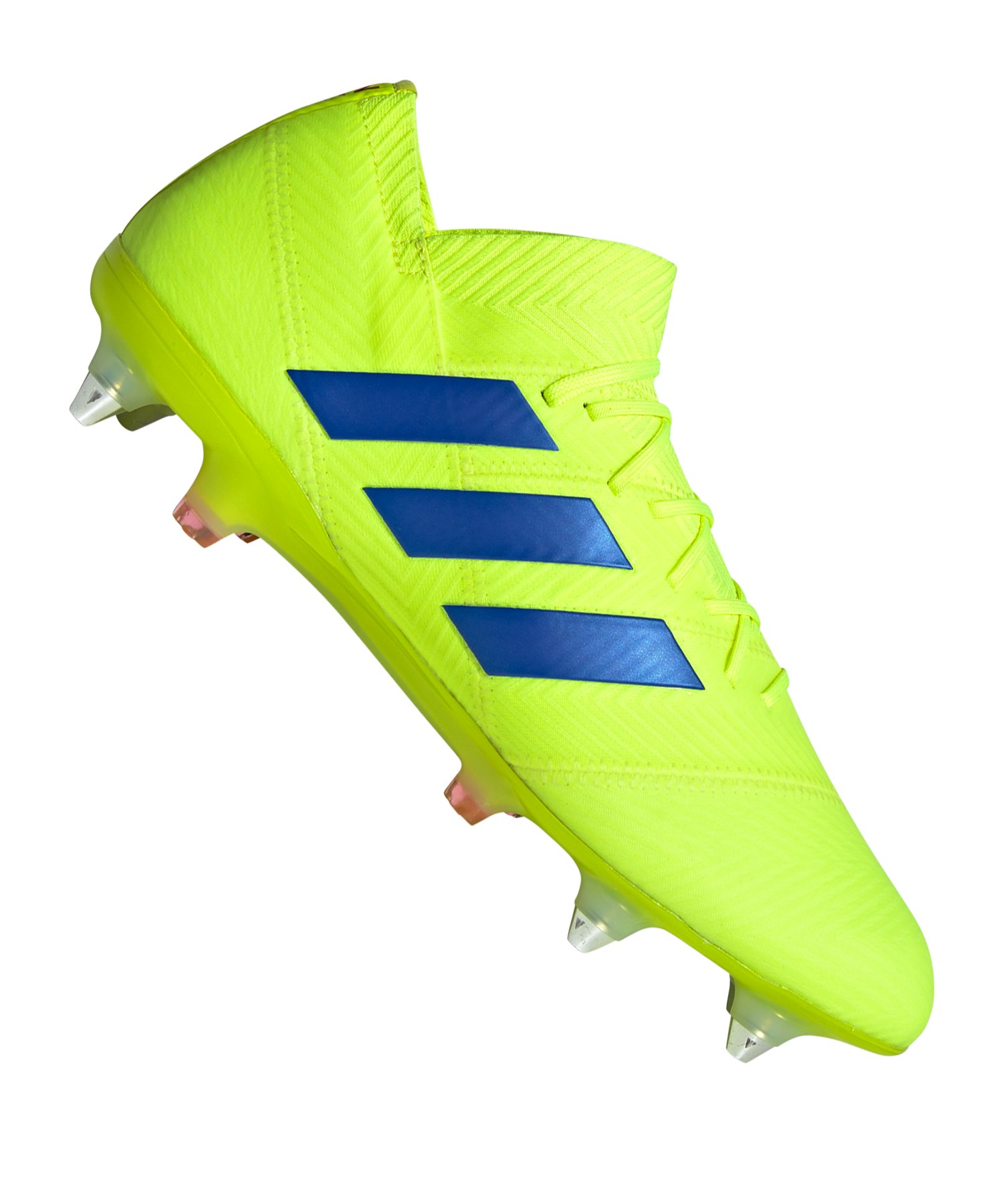 adidas NEMEZIZ 18.1 SG Gelb Blau - gelb