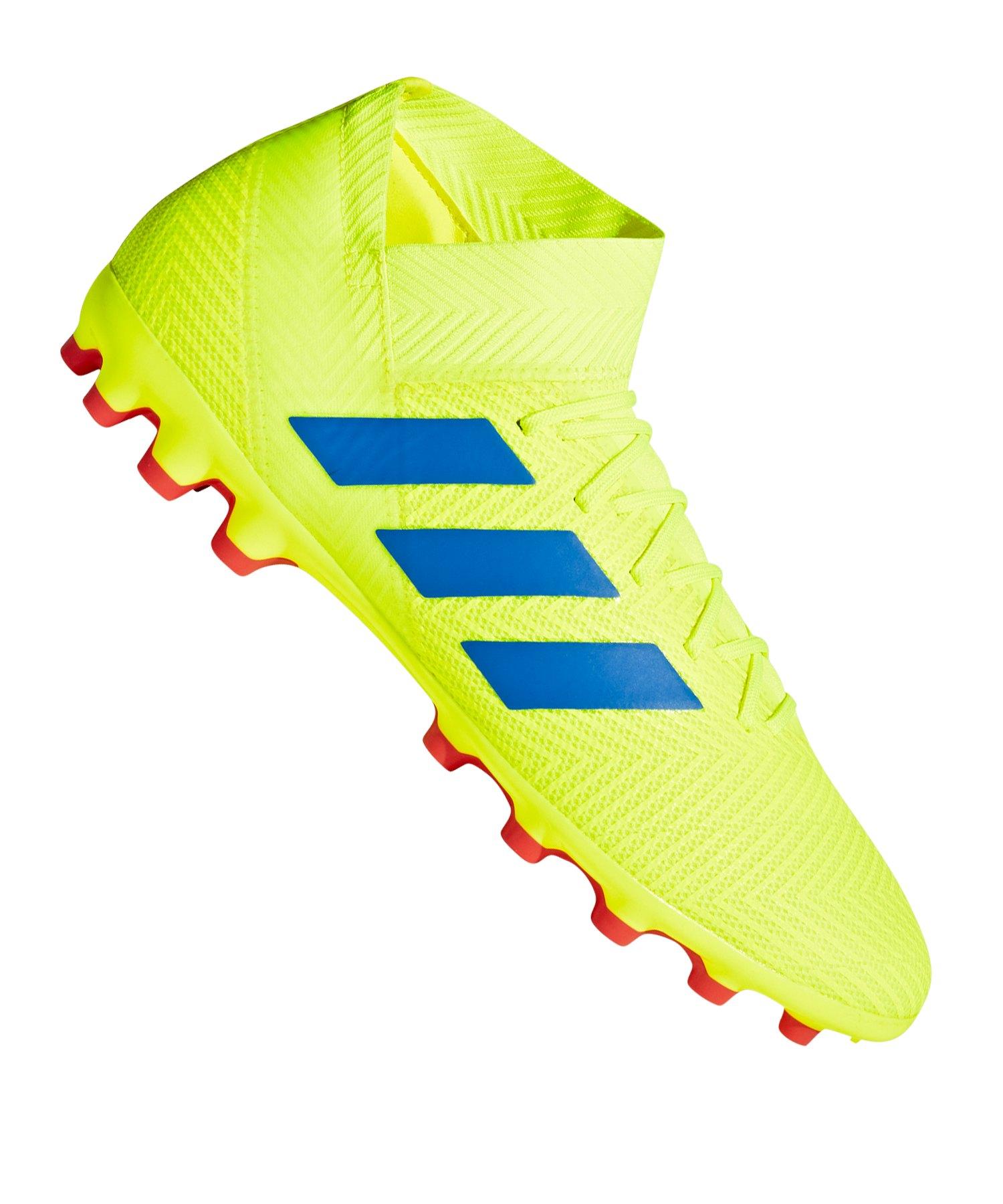 adidas NEMEZIZ 18.3 AG Gelb Blau - gelb