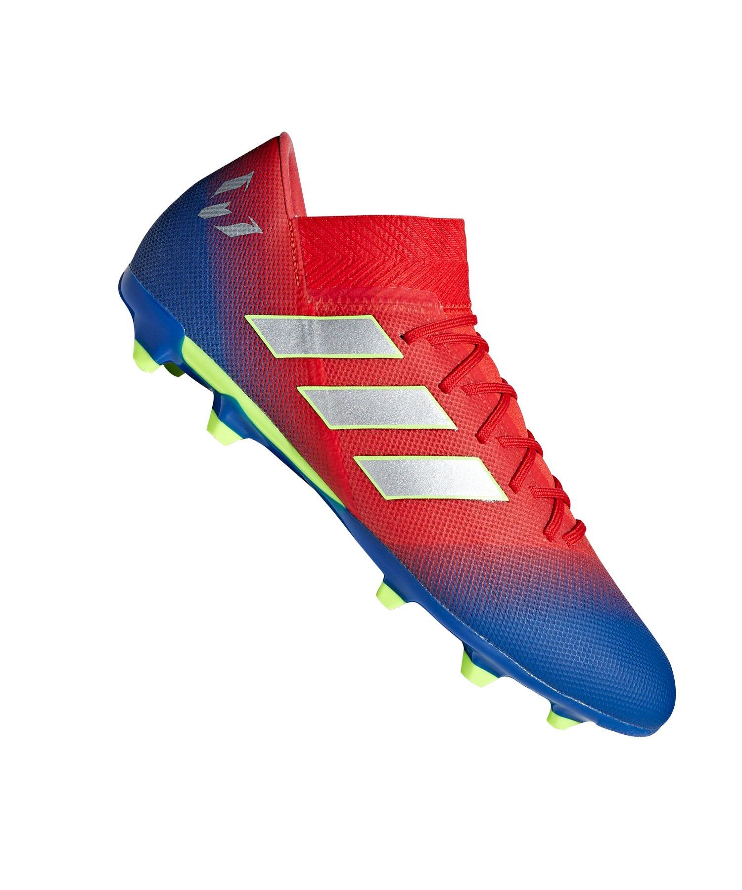 adidas NEMEZIZ Messi 18.3 FG Rot Blau - rot