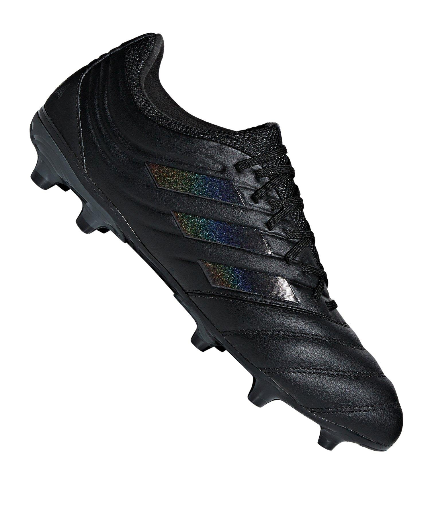 adidas COPA 19.3 FG Schwarz - schwarz