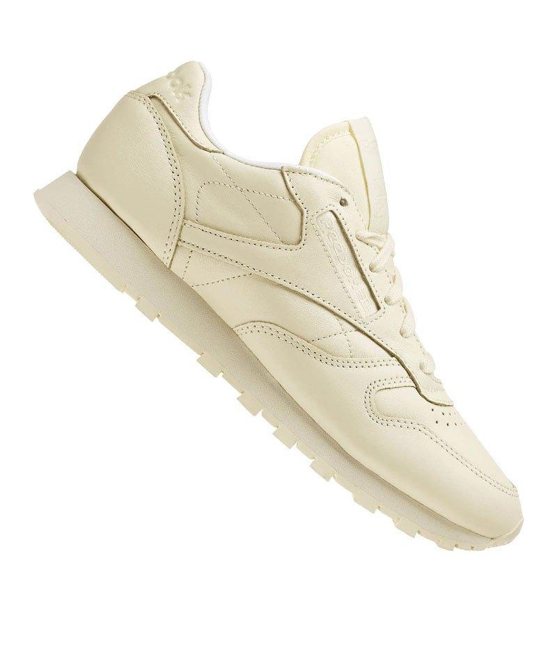 Reebok Sneaker Classic Leather Pastels Damen Gelb - gelb