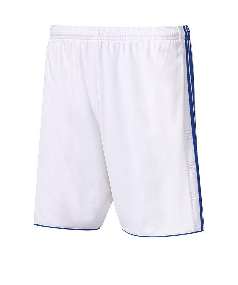 adidas Short Tastigo 17 ohne Innenslip Weiss Blau - weiss