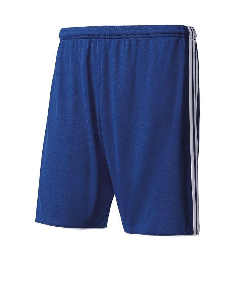 adidas Short Tastigo 17 ohne Innenslip Blau Weiss - blau