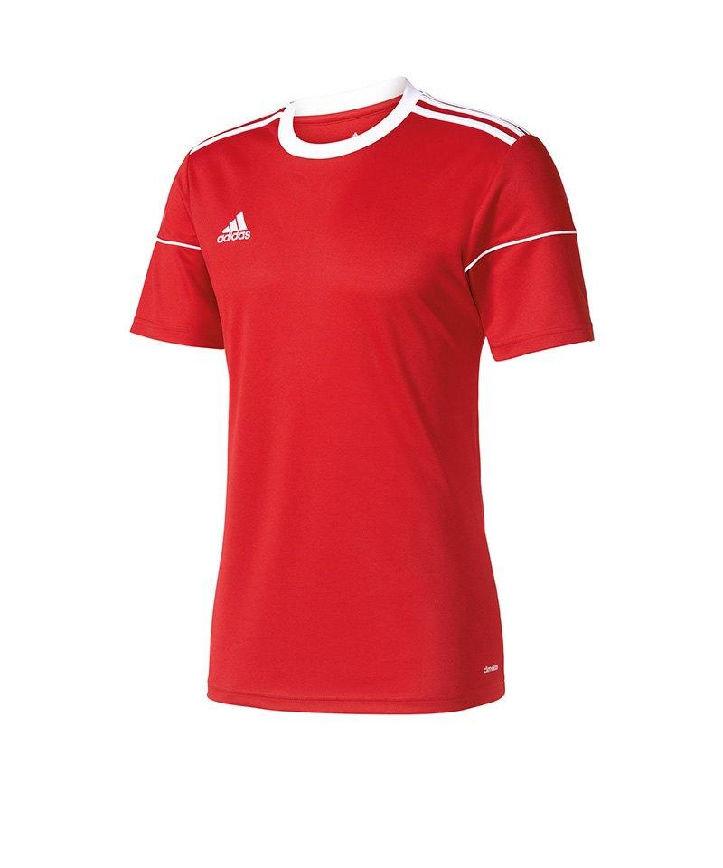 adidas Trikot Squadra 17 kurzarm Rot Weiss - rot