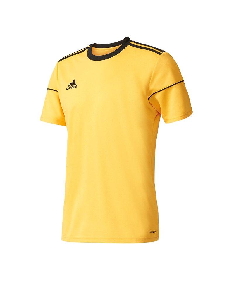 adidas Trikot Squadra 17 kurzarm Gelb Schwarz - gelb