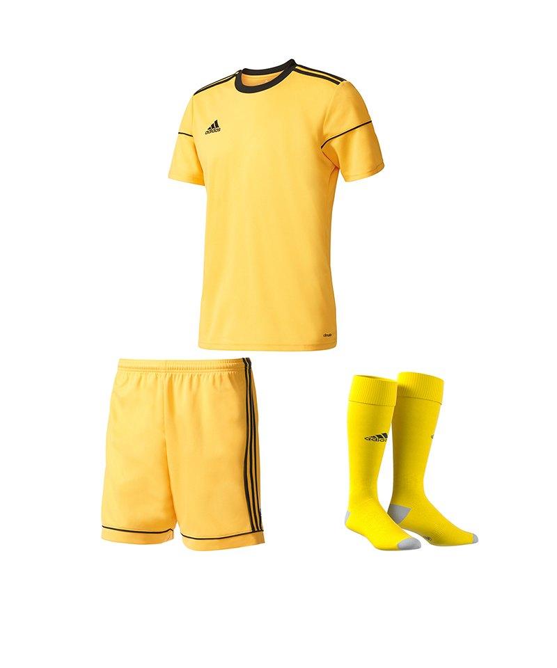 adidas Trikotset Squadra 17 Gelb - gelb