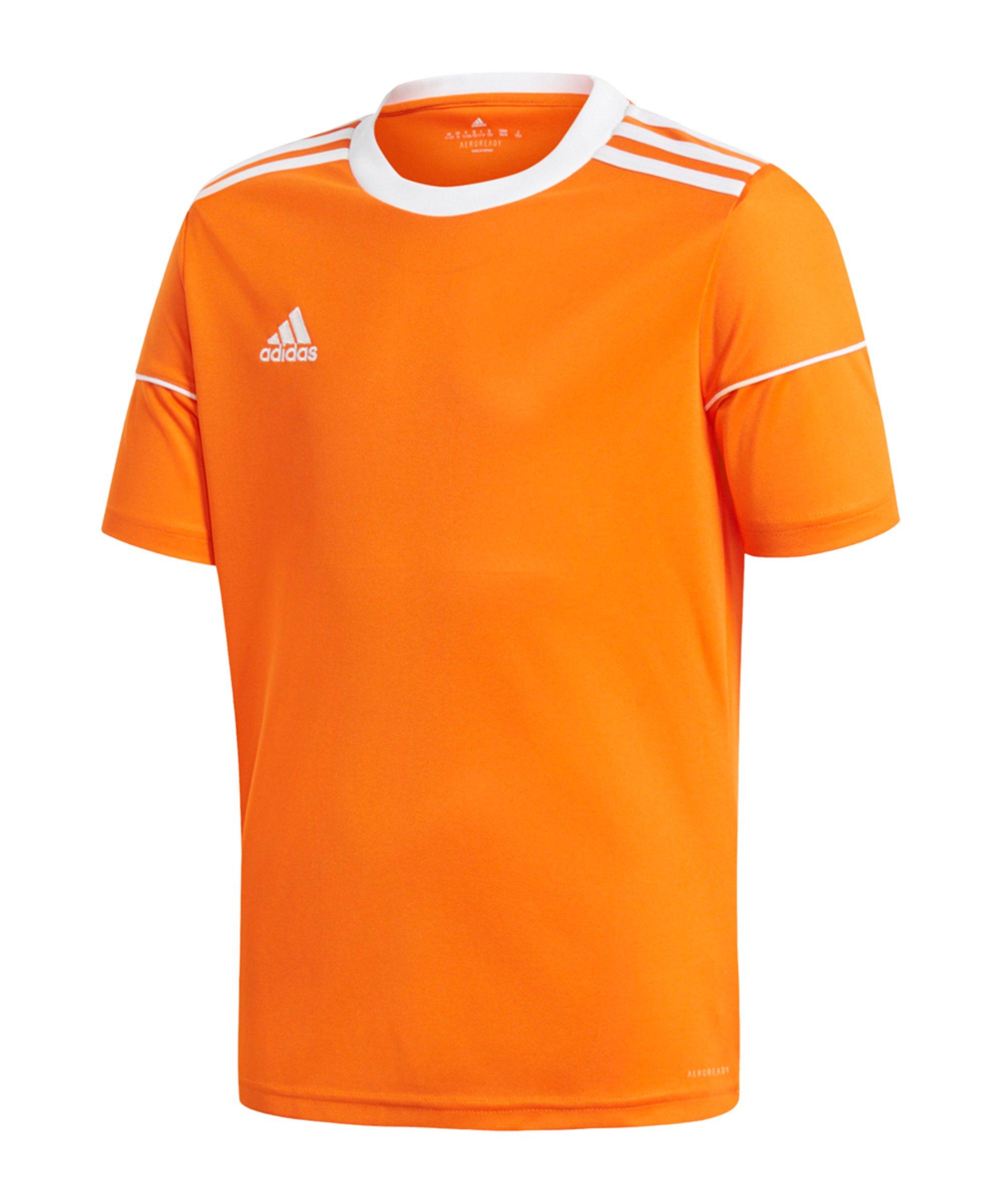 adidas Squad 17 Trikot Kids Orange Weiss - orange