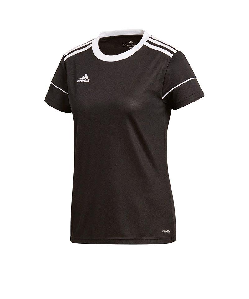 adidas Squadra 17 Trikot kurzarm Damen Schwarz - schwarz