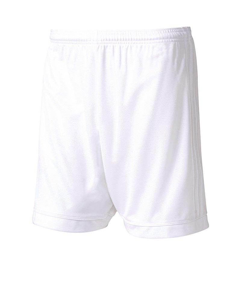 adidas Short Squadra 17 ohne Innenslip Weiss - weiss