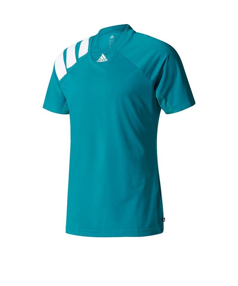 adidas T-Shirt Tanis Climacool Tee Grün Weiss - gruen