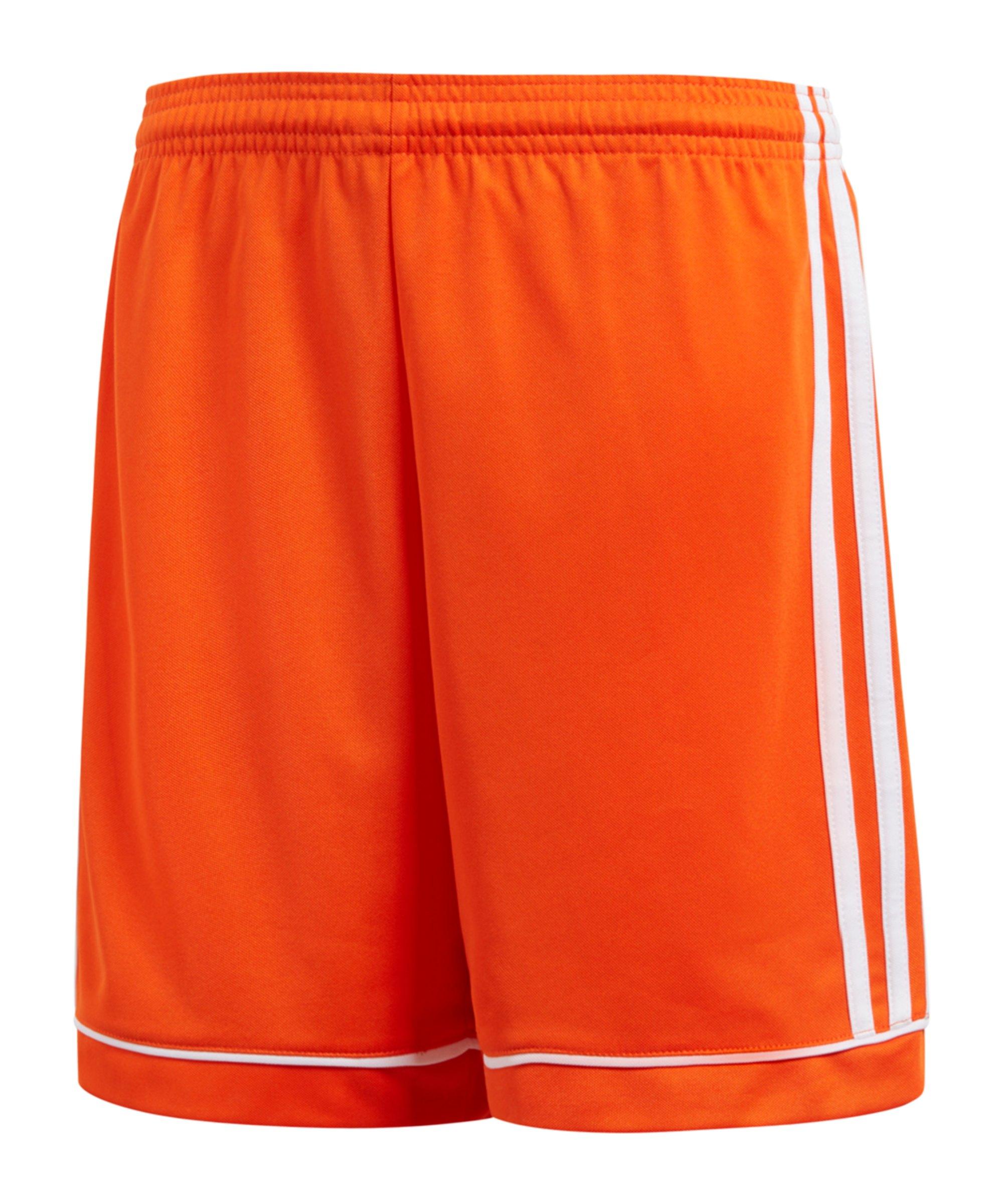 adidas Squadra 17 Short Kids Orange Weiss - orange