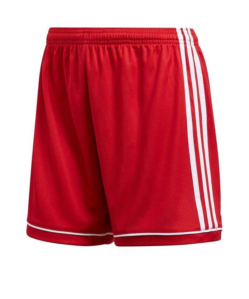 adidas Squadra 17 Short o. Innenslip Damen Rot - rot