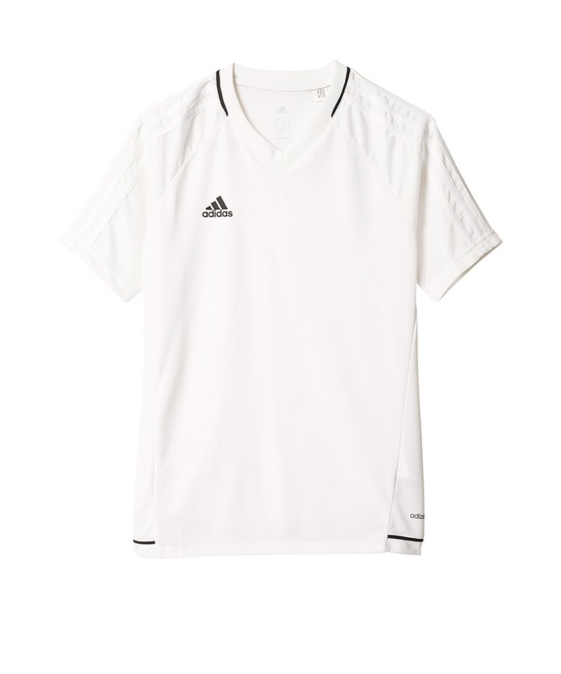 adidas Trainingsshirt Tiro 17 Kinder Weiss - weiss