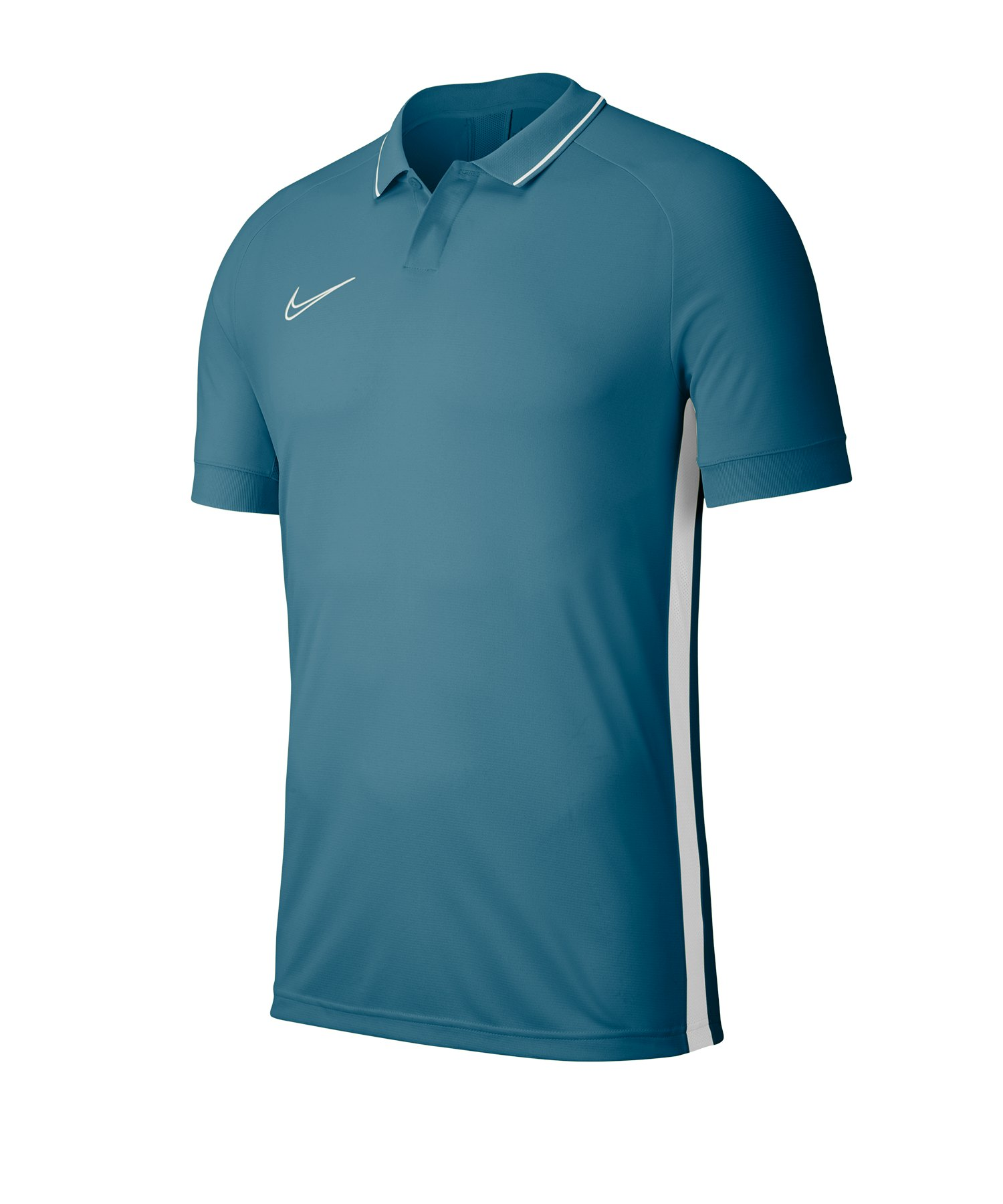 Nike Academy 19 Poloshirt Kids Blau F404 - tuerkis