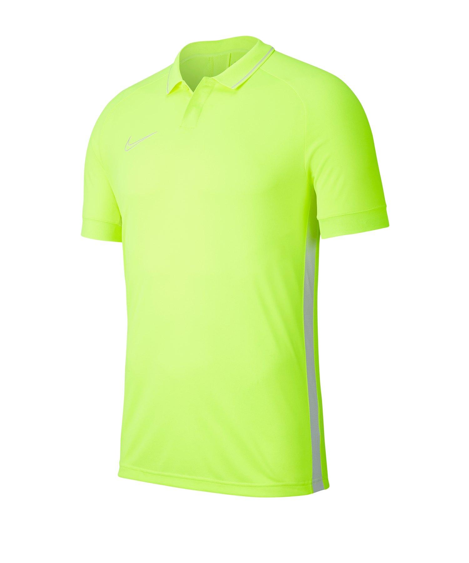 Nike Academy 19 Poloshirt Kids Gelb F702 - gelb