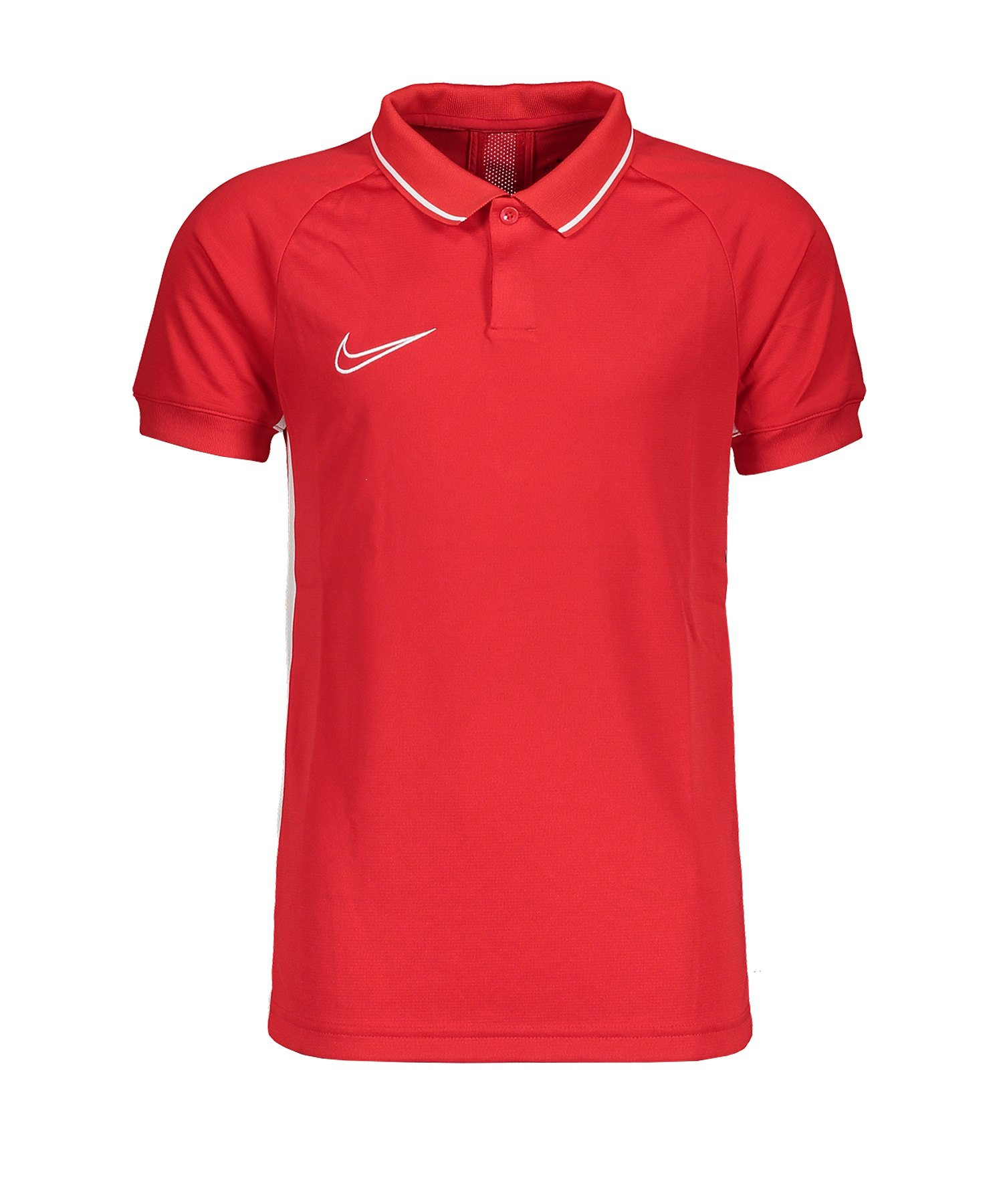 Nike Academy 19 Poloshirt Kids Rot F657 - rot
