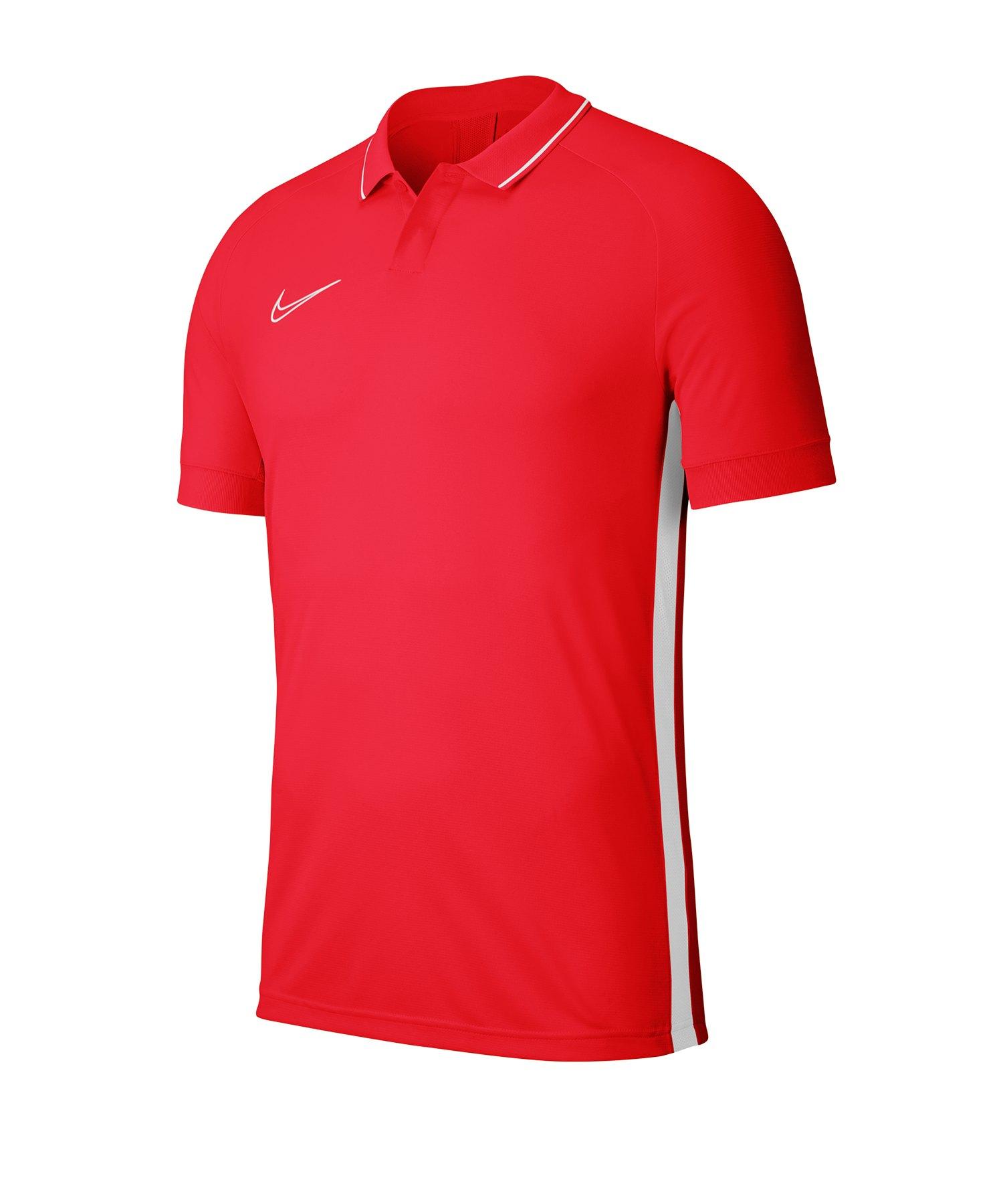 Nike Academy 19 Poloshirt Kids Rot F671 - rot