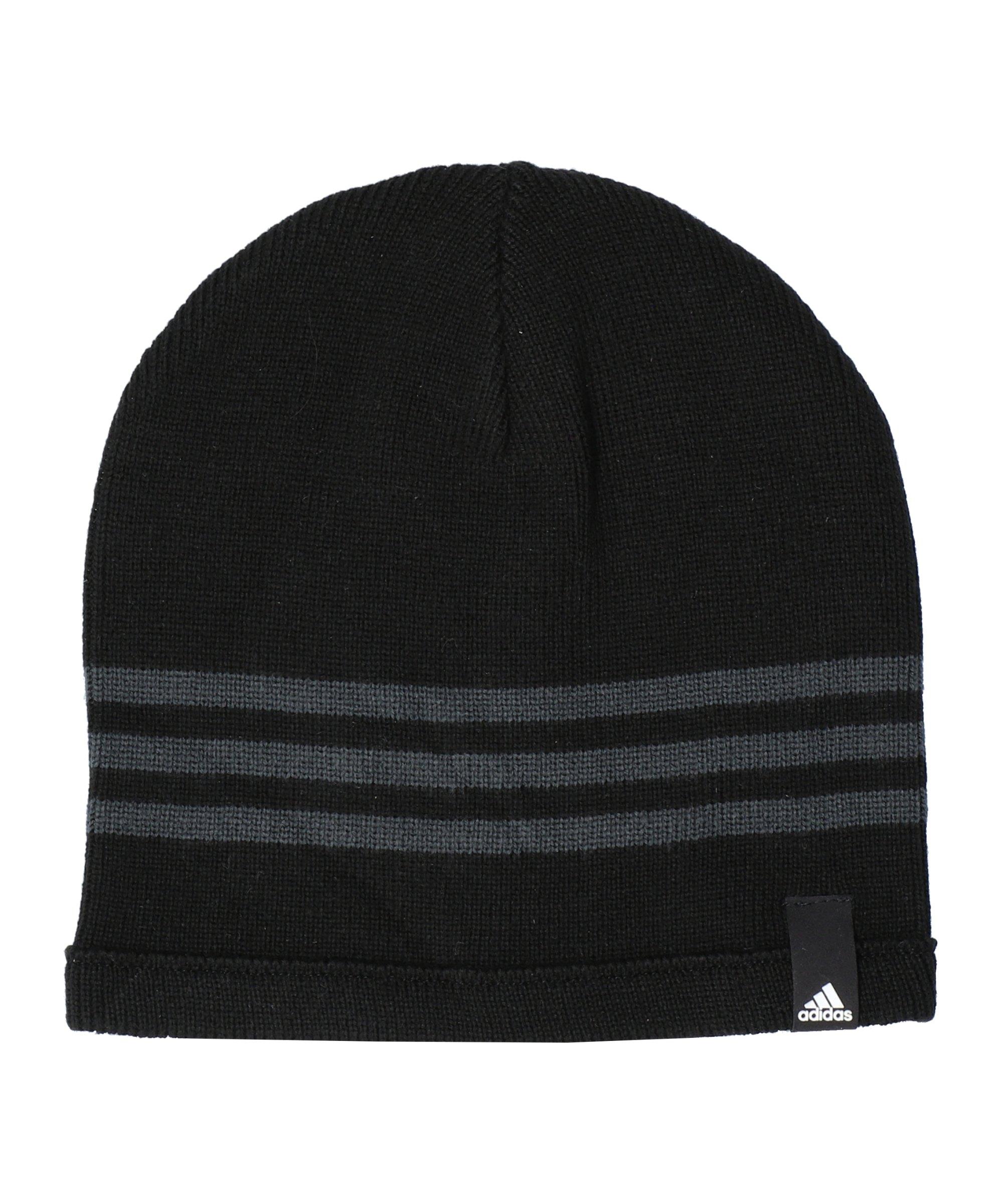 adidas Tiro Beanie Mütze Schwarz Grau - schwarz