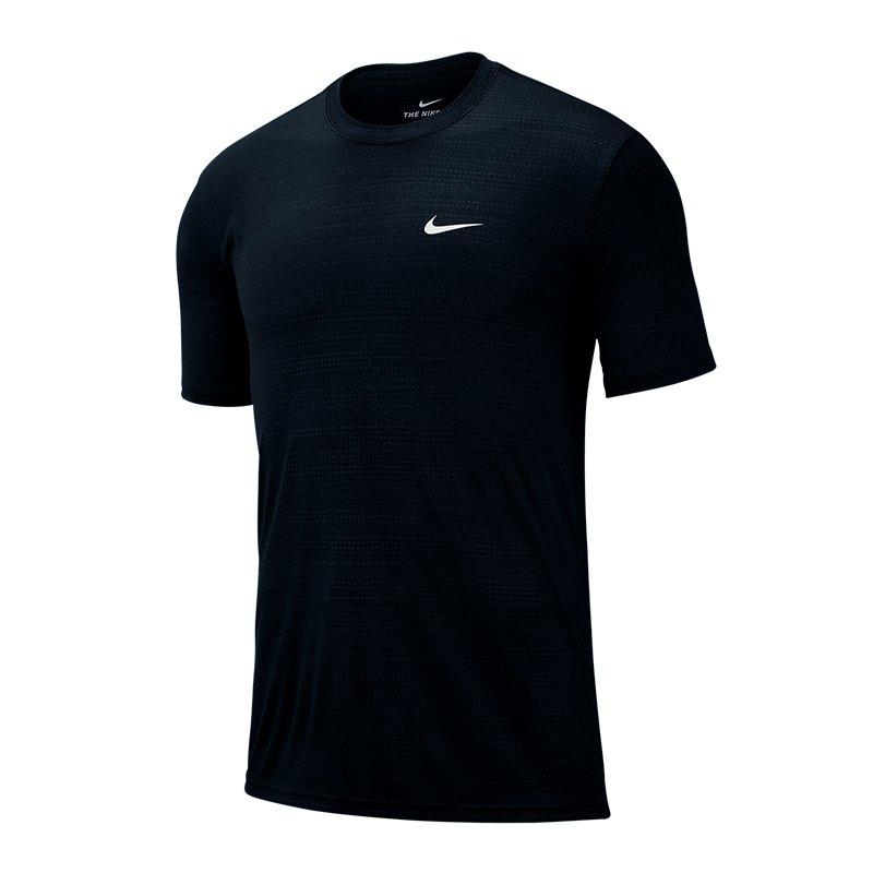 Nike Dri-FIT Legend Tee T-Shirt Schwarz F010 - Schwarz