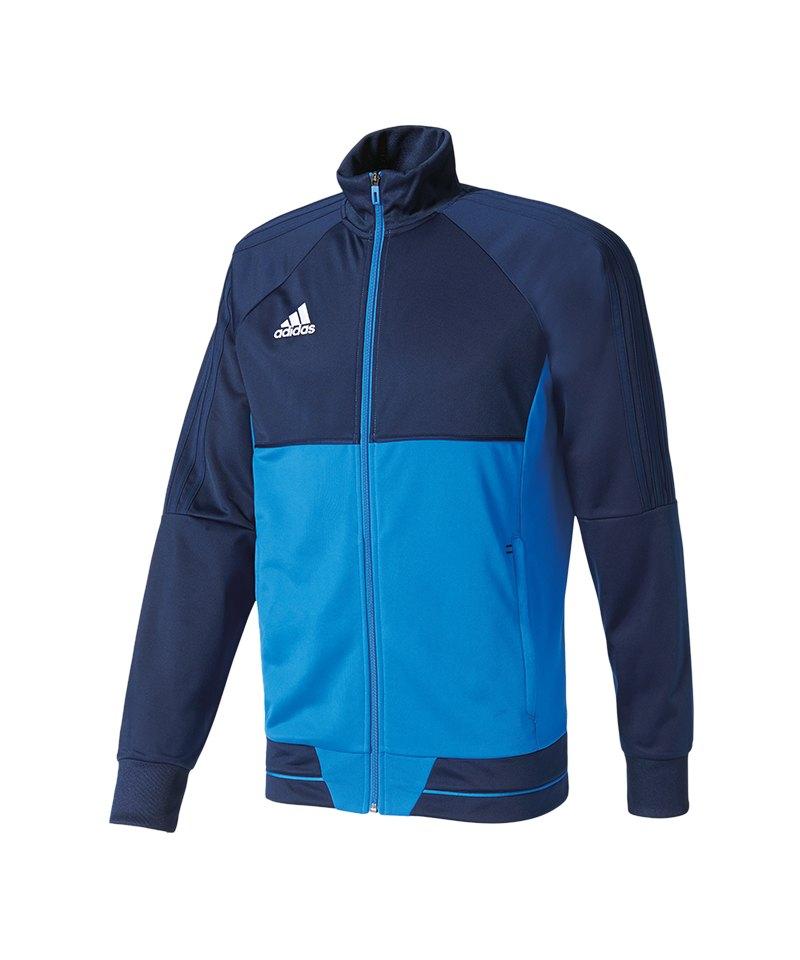 adidas Tiro 17 Trainingsjacke Blau - blau