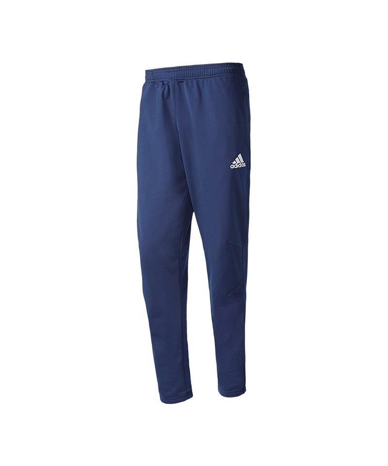 adidas Tiro 17 Trainingshose Kids Blau Weiss - blau