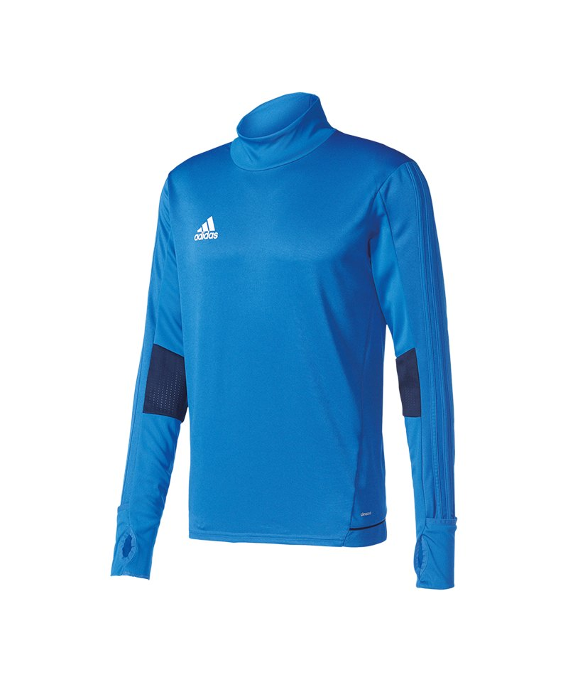 adidas Tiro 17 Trainingstop Blau - blau