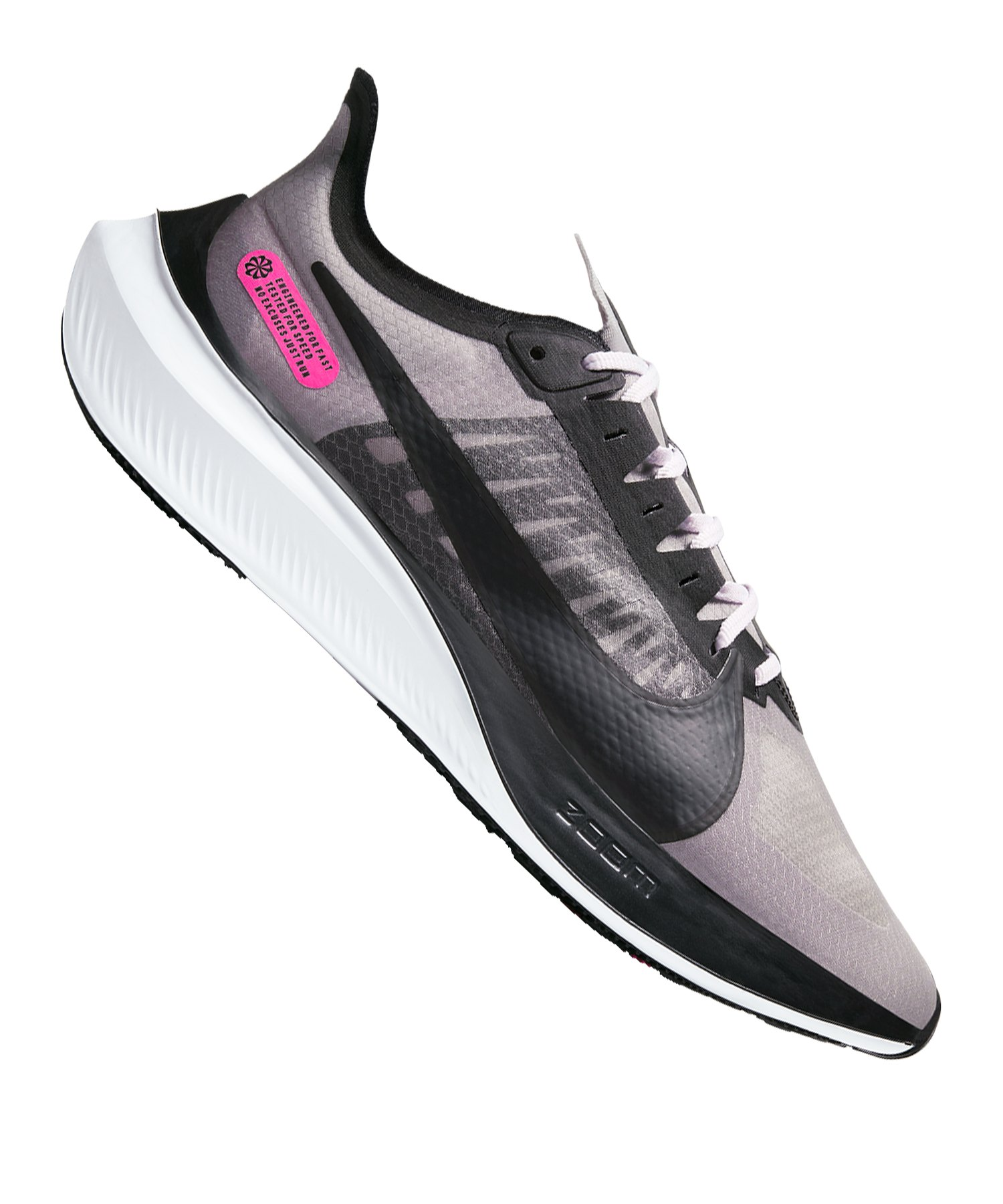 Nike Zoom Gravity Running Schwarz Pink F006 - grau