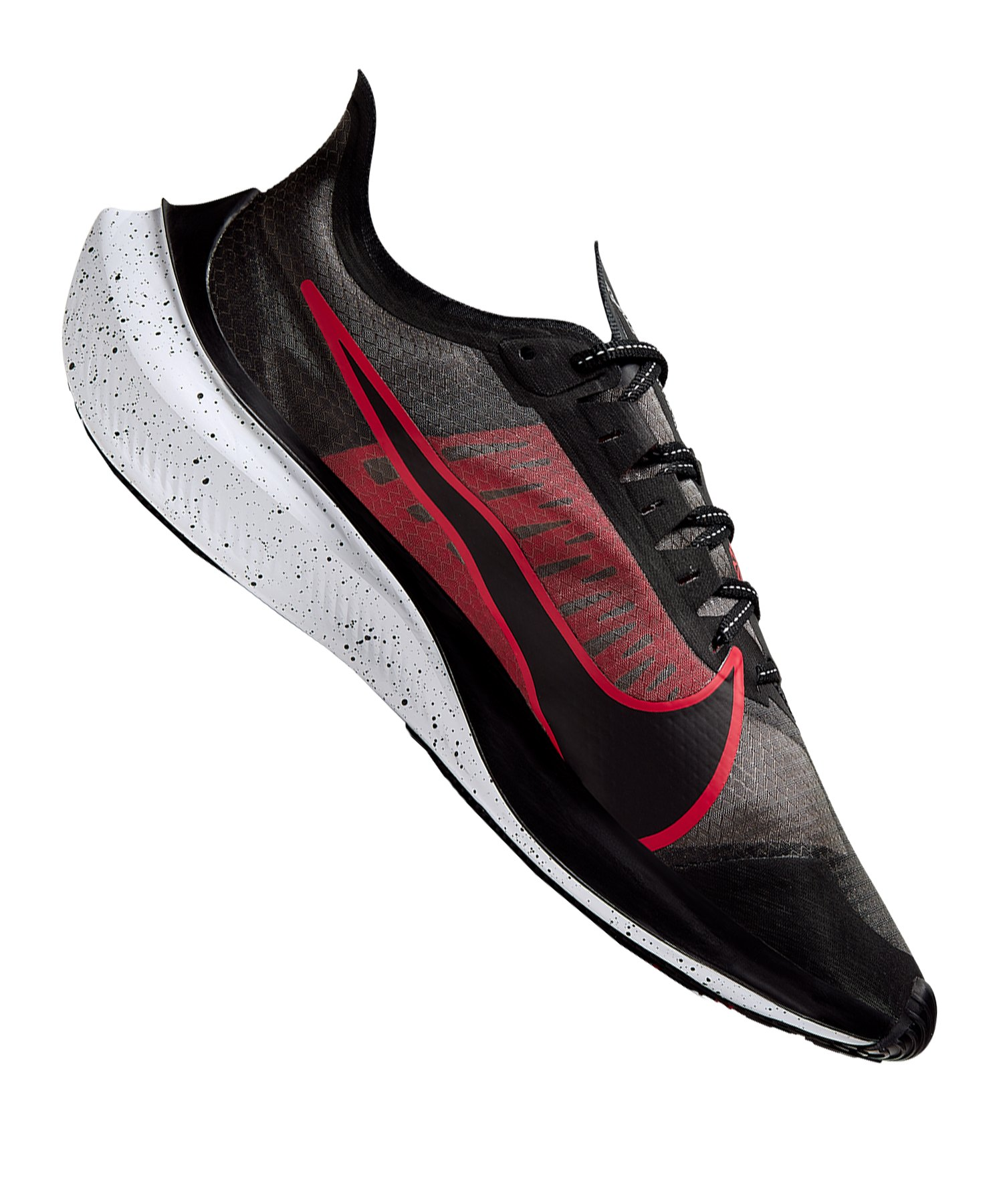 Nike Zoom Gravity Running Schwarz Rot F005 - schwarz