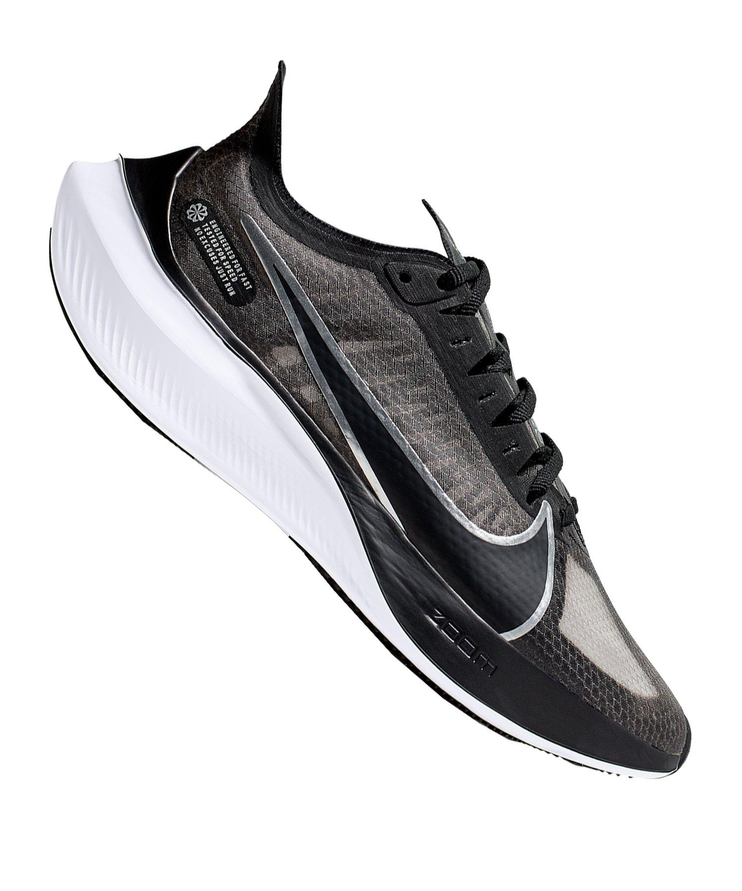 Nike Zoom Gravity Sneaker Damen Grau F002 - schwarz