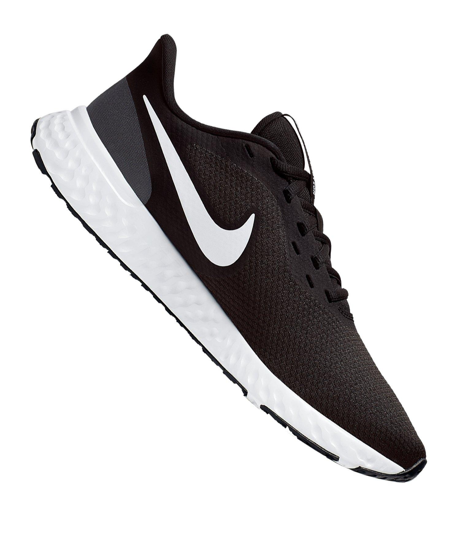 Nike Revolution 5 Running Damen Schwarz F002 - schwarz