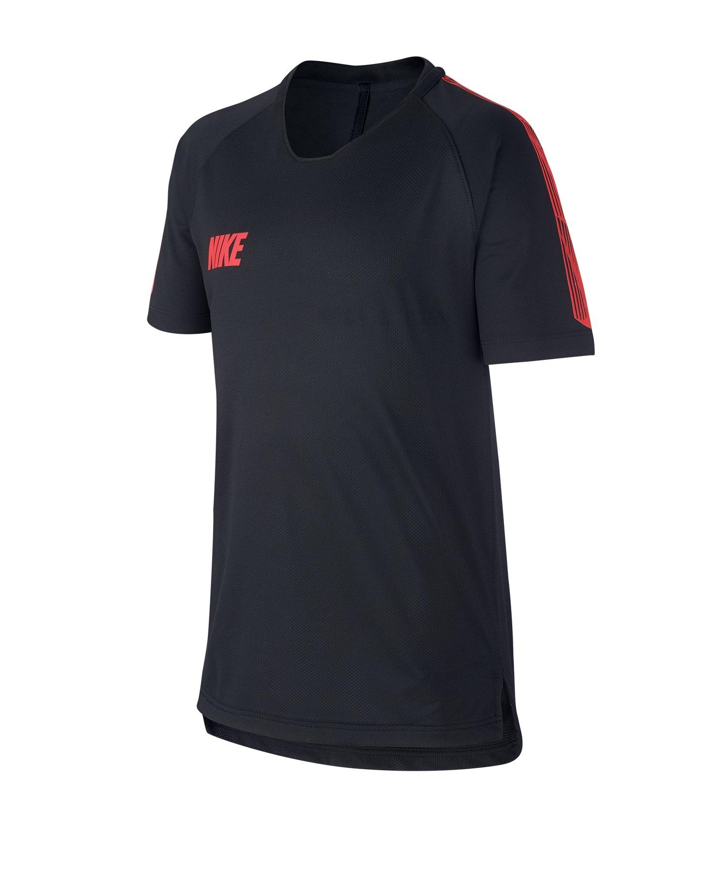 Nike Squad 19 Breathe T-Shirt Kids Schwarz F011 - schwarz