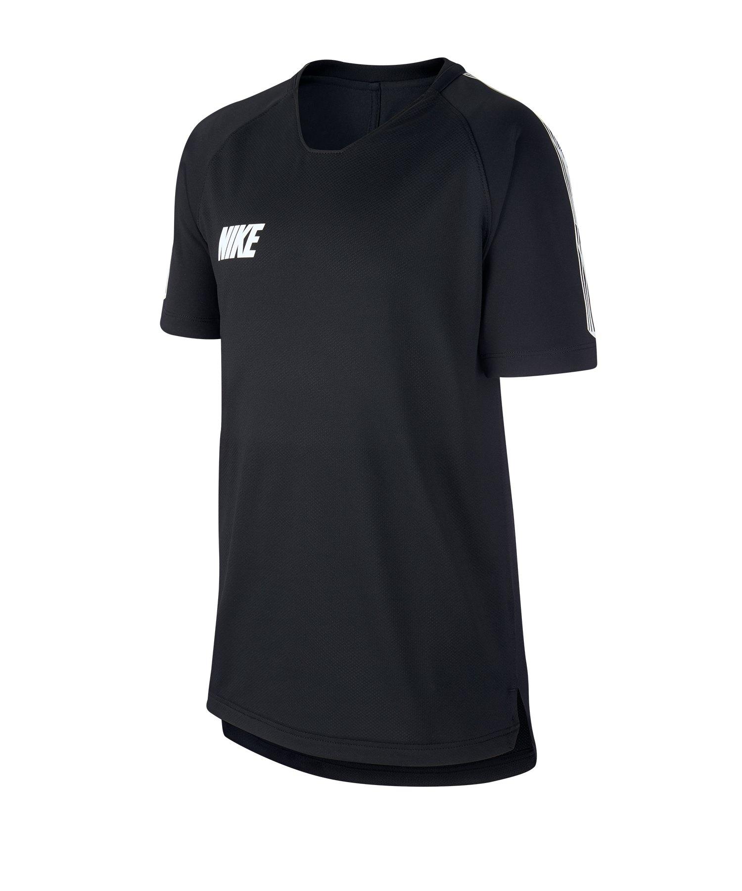 Nike Squad 19 Breathe T-Shirt Kids Schwarz F014 - schwarz