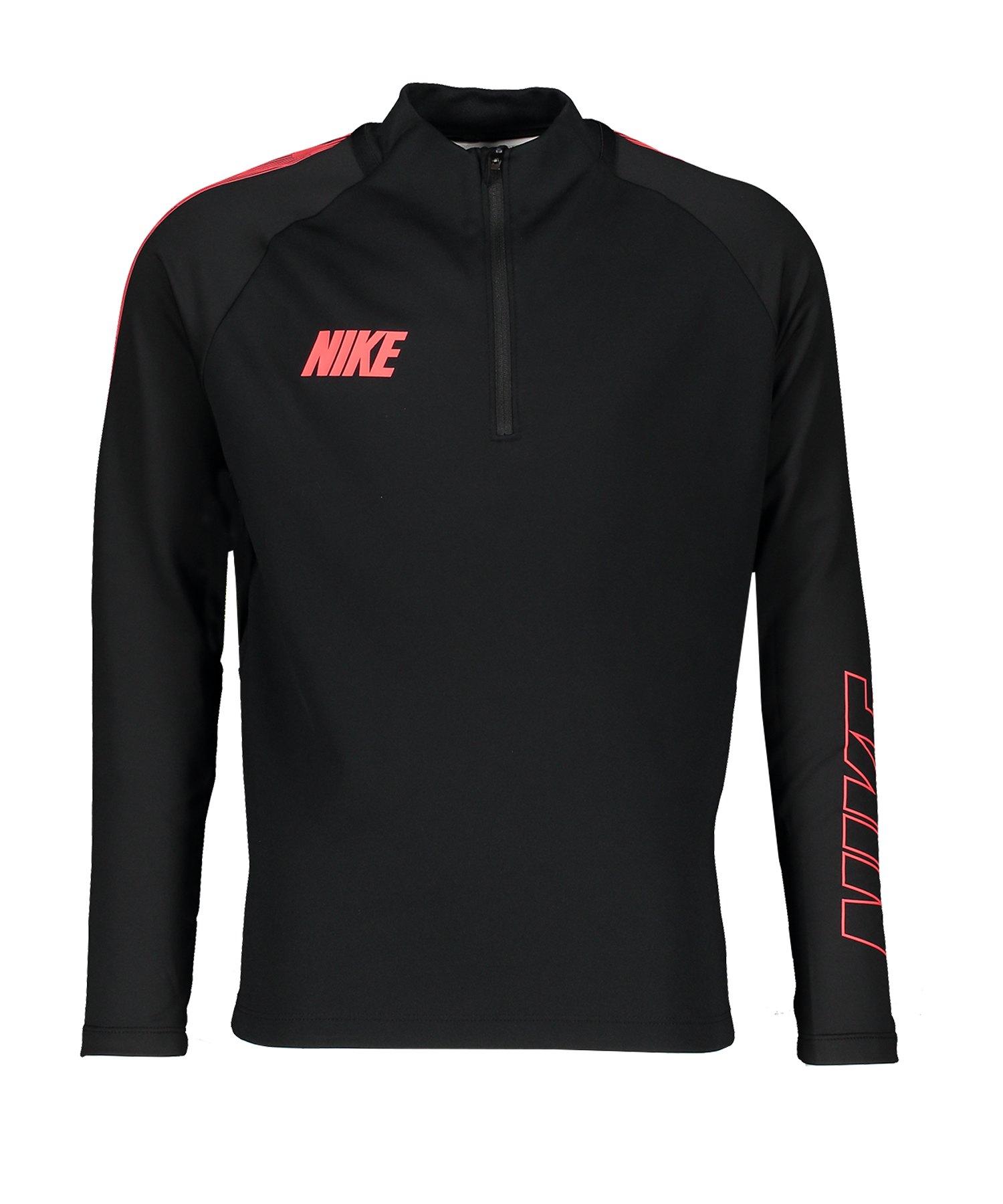 Nike Squad 19 Drill Top Sweatshirt Kids F011 - schwarz