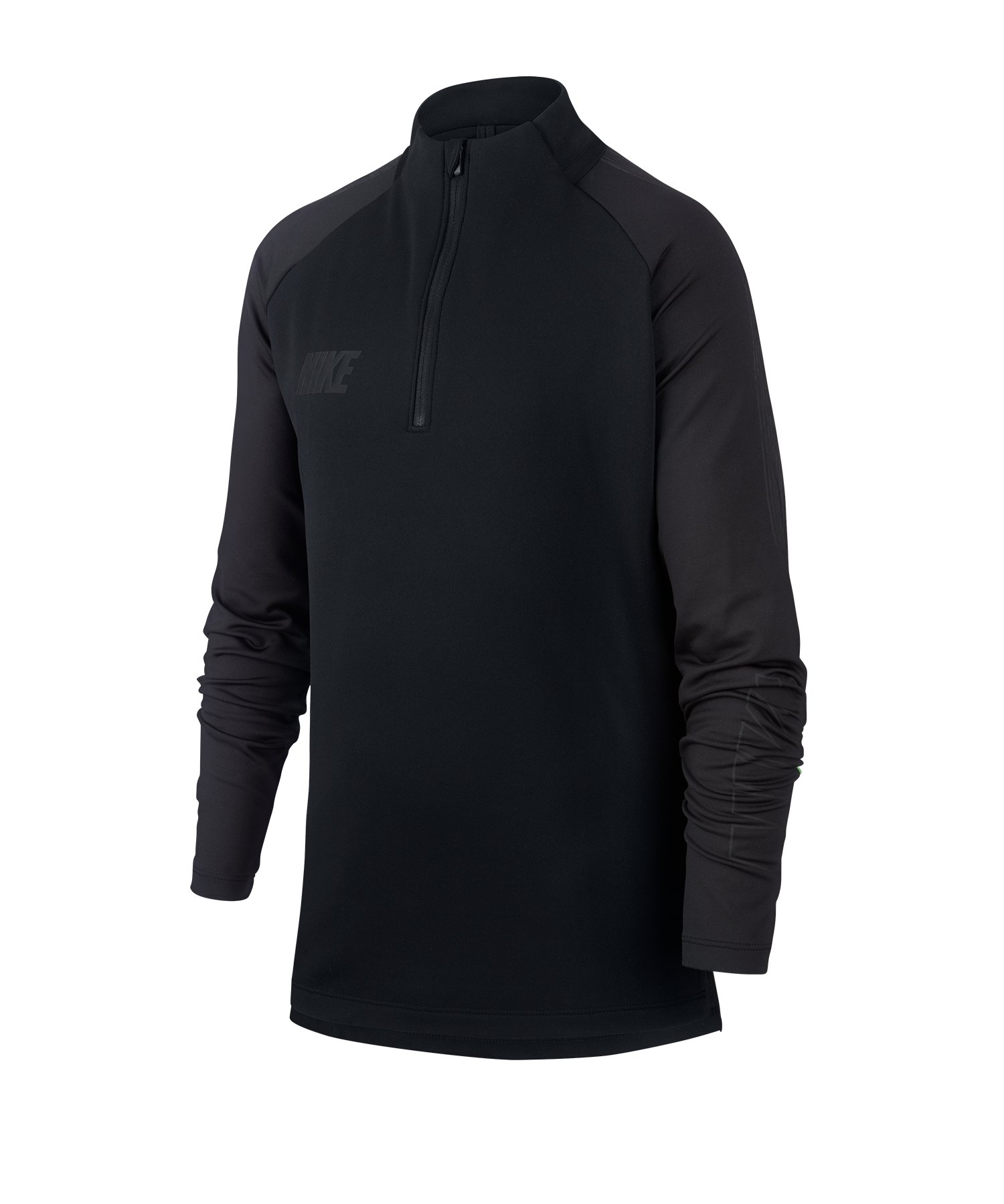 Nike Squad 19 Drill Top Sweatshirt Kids F013 - schwarz