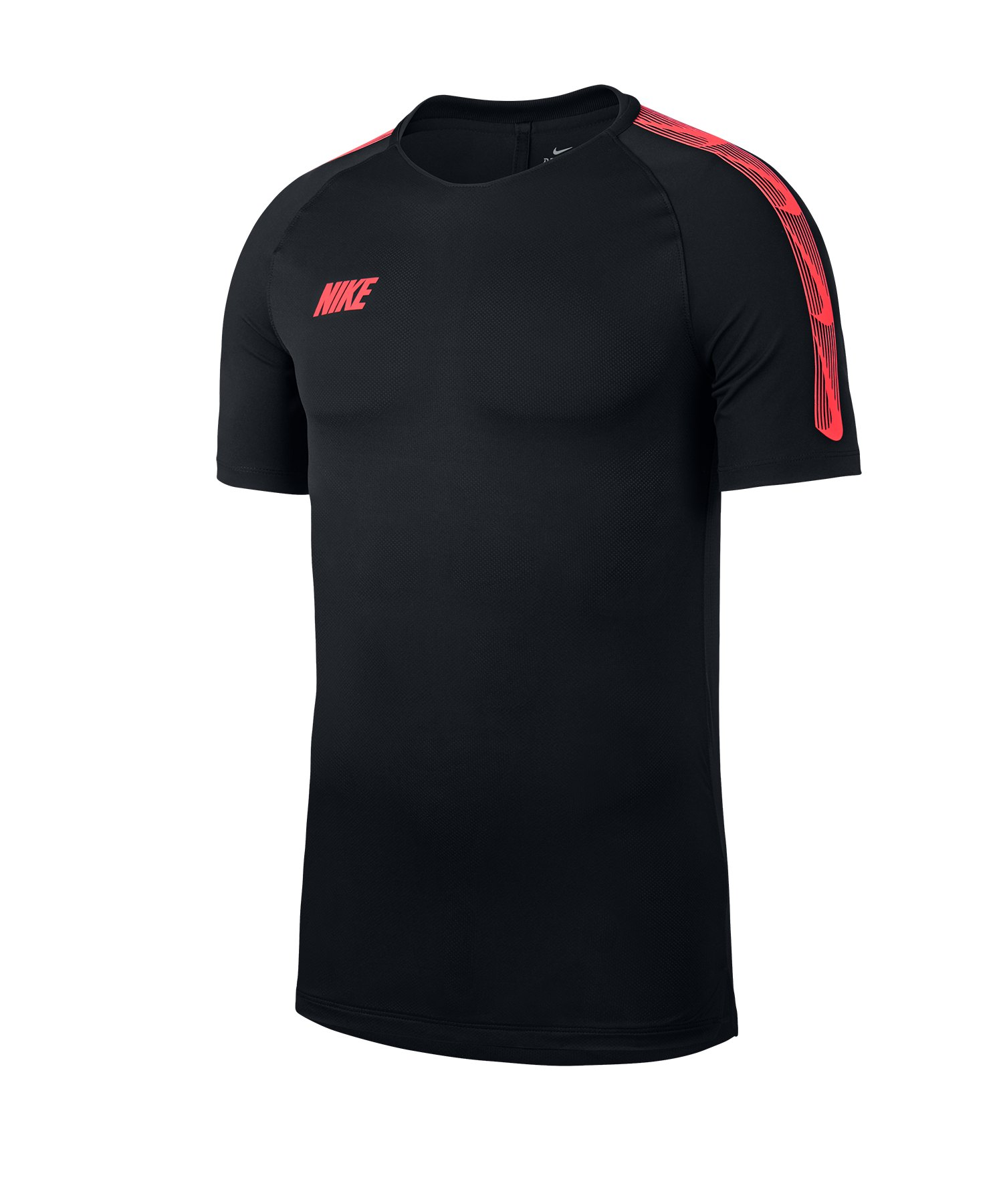 Nike Squad 19 Breathe T-Shirt Schwarz F014 - schwarz