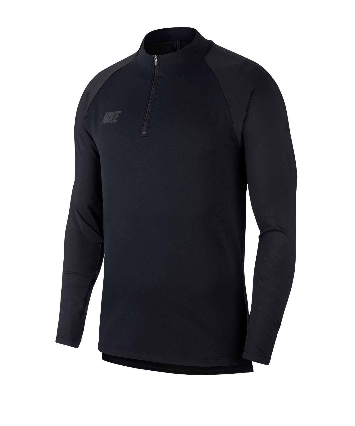 Nike Squad 19 Drill Top Sweatshirt Schwarz F013 - schwarz