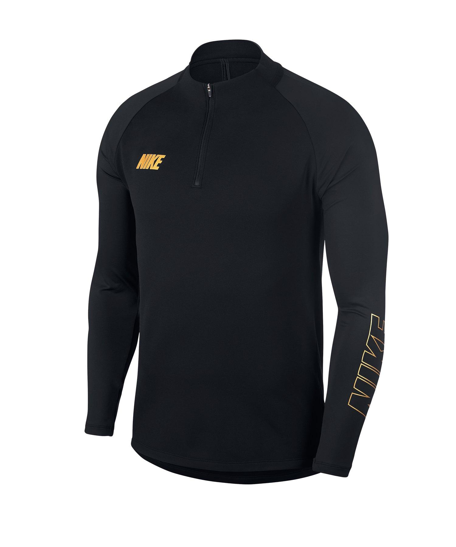 Nike Squad 19 Drill Top Sweatshirt Schwarz F015 - schwarz