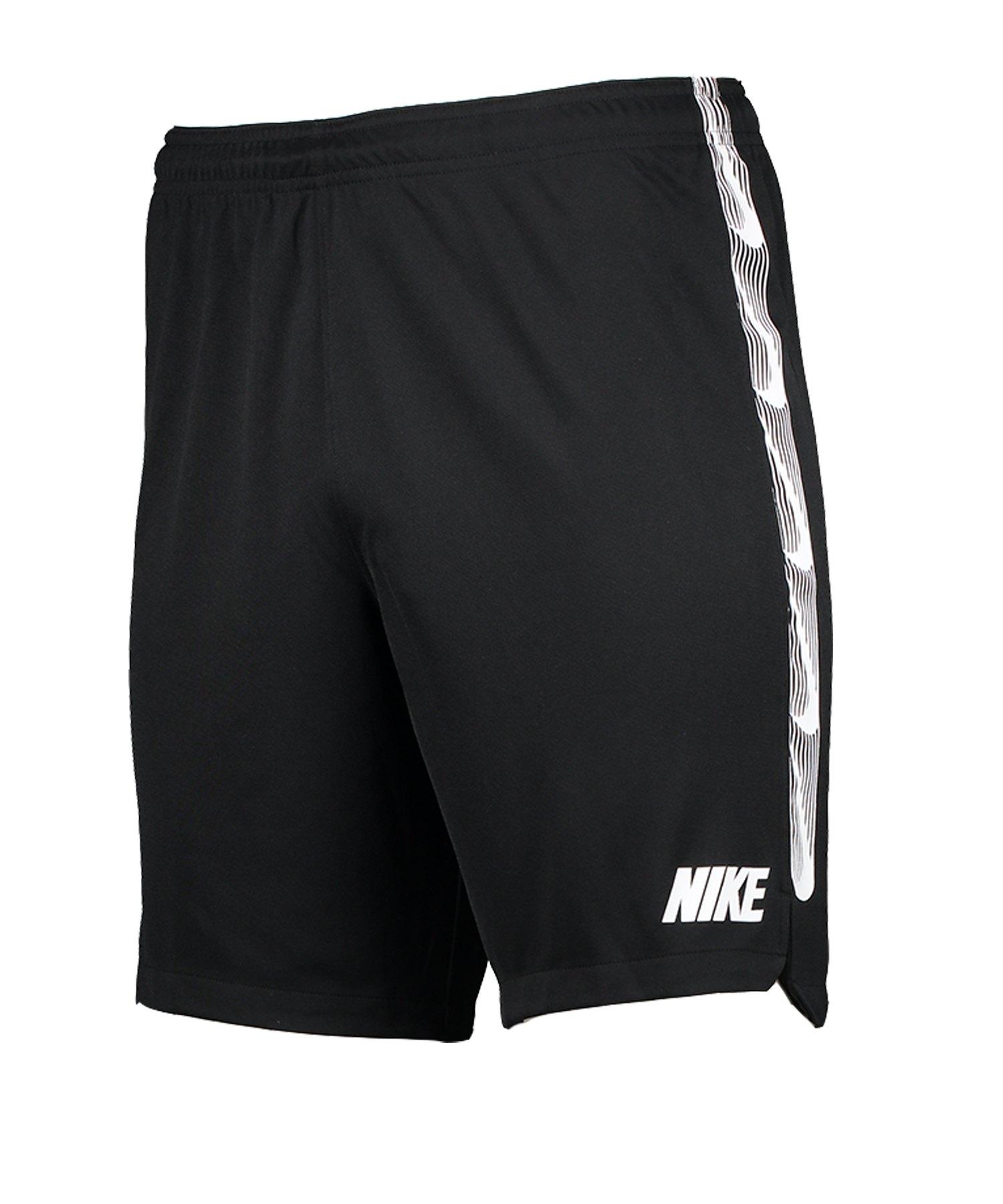 Nike Dry Squad Knit Short Schwarz F011 - schwarz