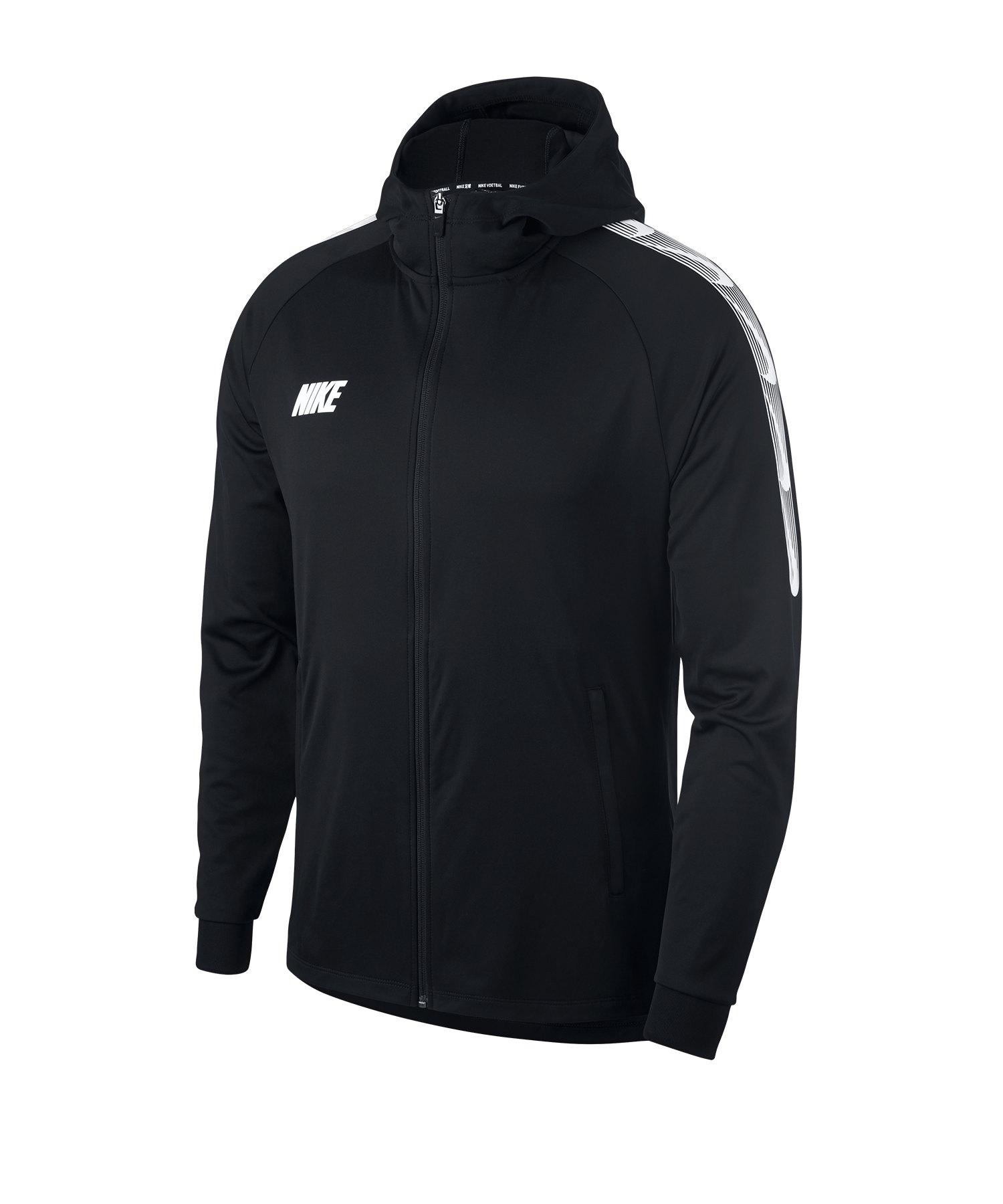 Nike Dry Squad Trainingsjacke Schwarz F011 - schwarz