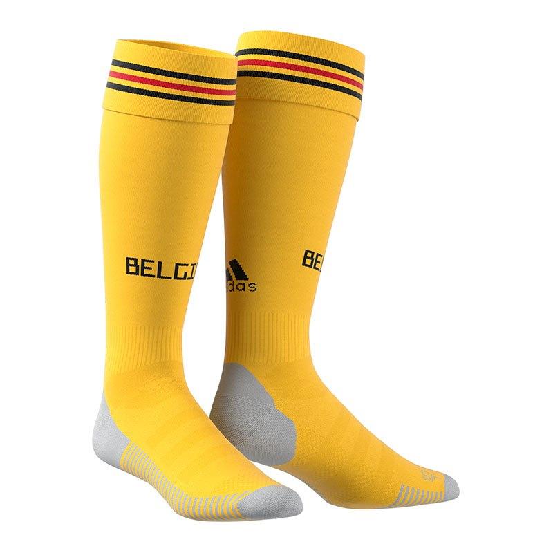 adidas Belgien Stutzen Away WM 2018 Gelb - gelb