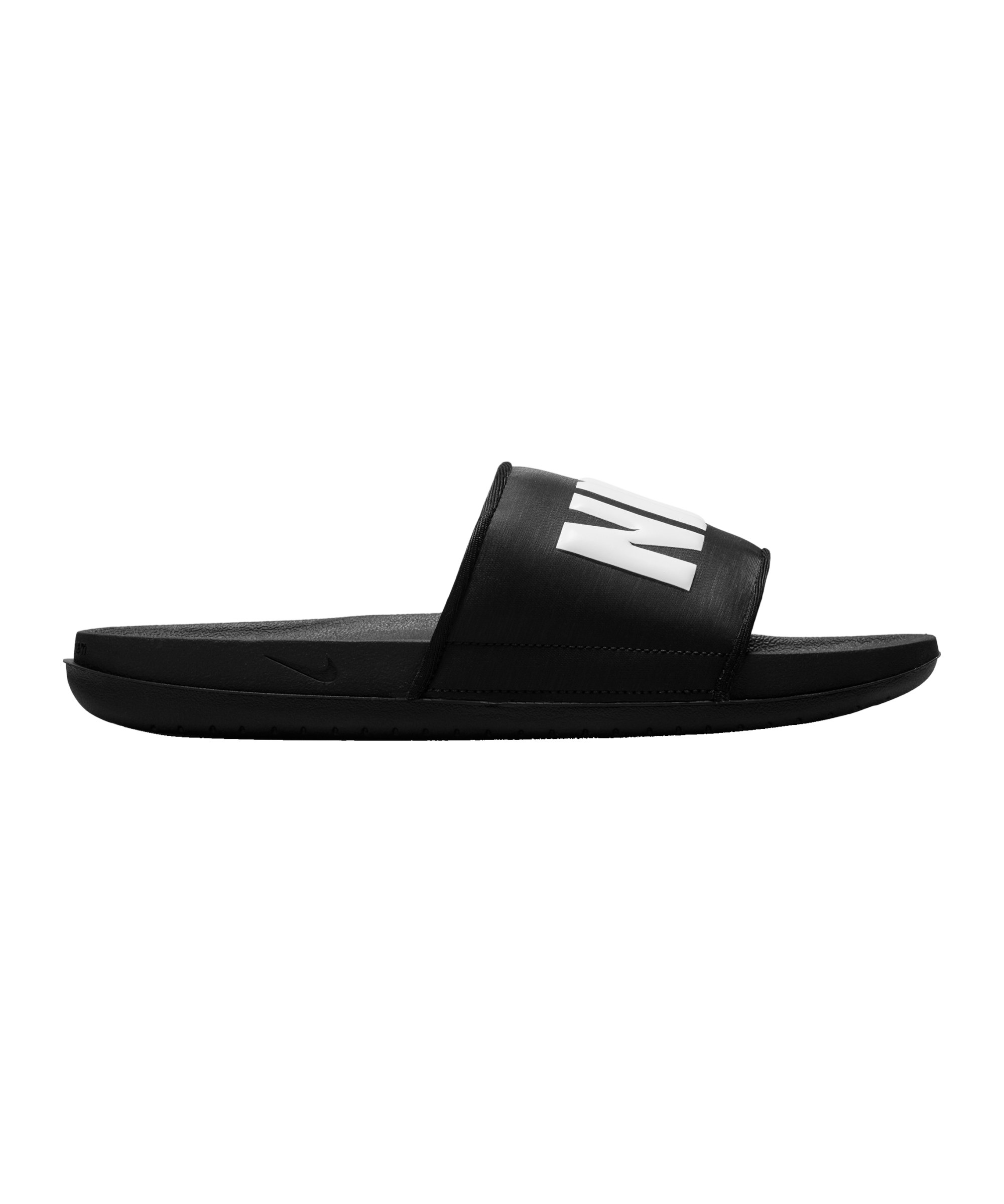 Nike Offcourt Slide Badelatsche Schwarz F012 - schwarz