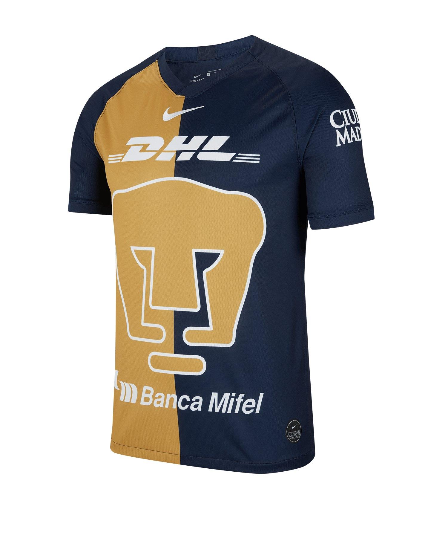 Nike UNAM Pumas Trikot 3rd 19/20 Blau F451 - blau