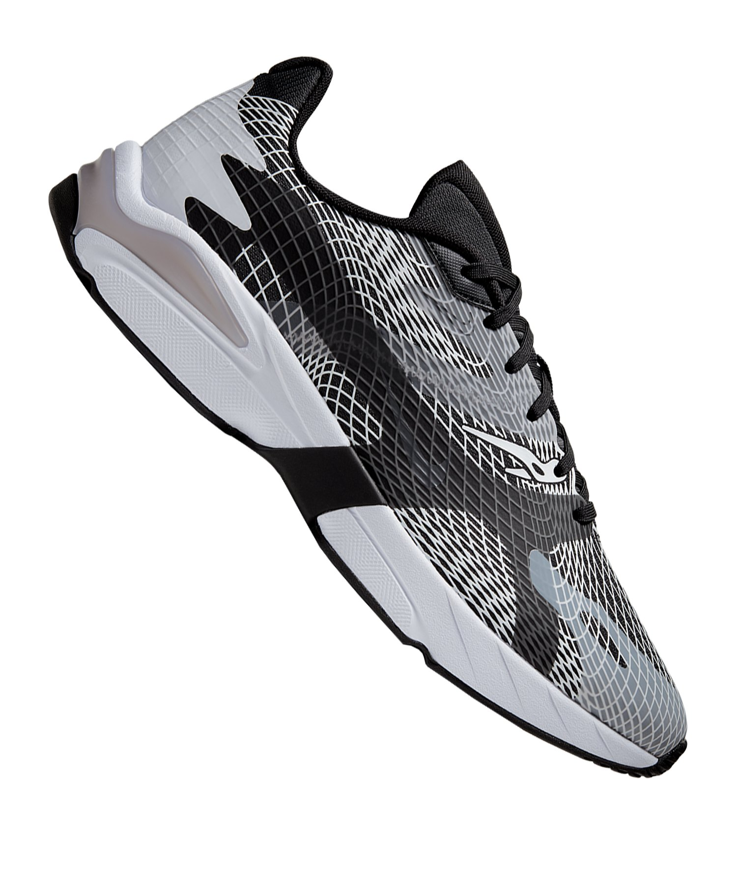 Nike Ghostwift Running Weiss Schwarz F101 - weiss