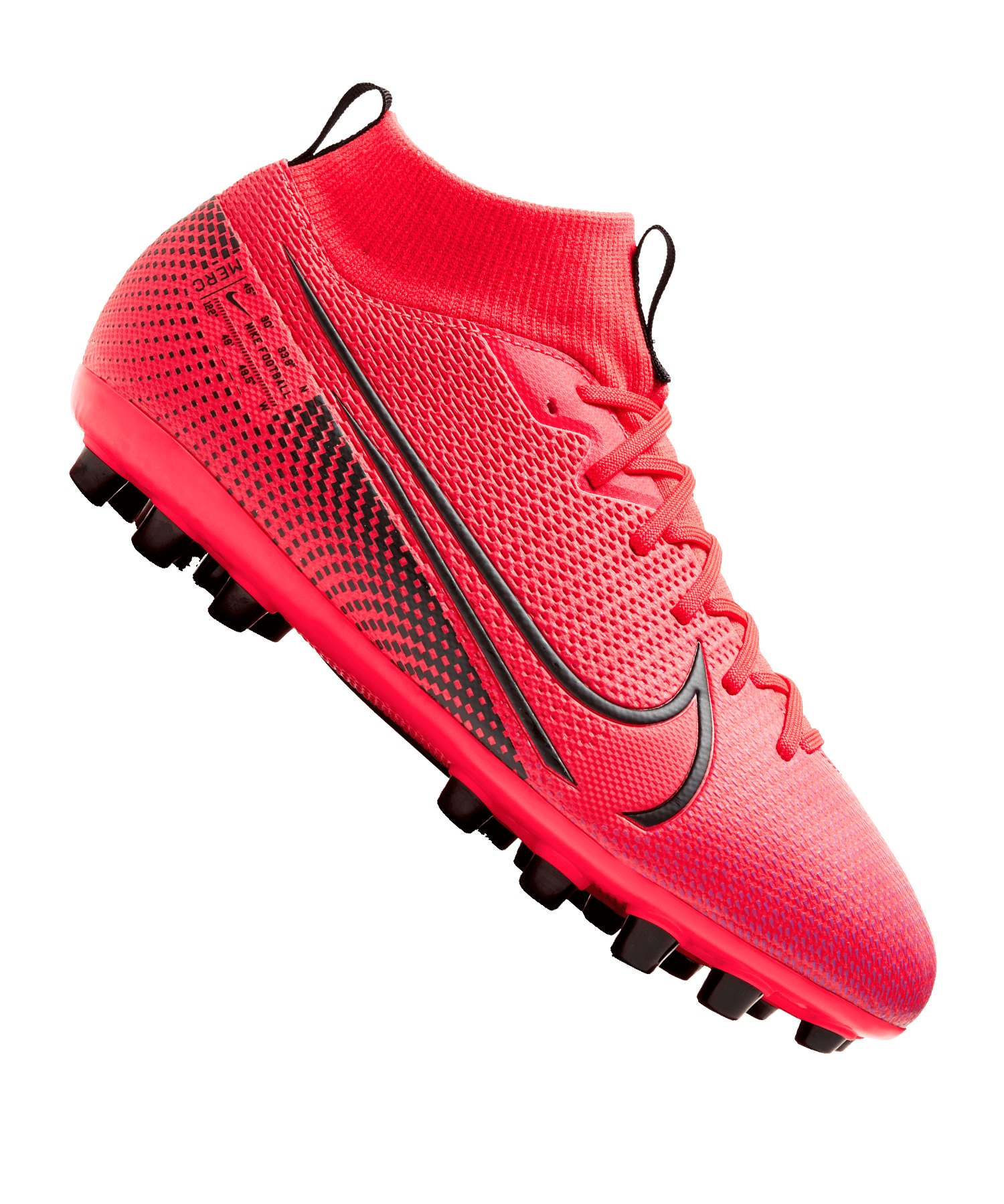 Nike Jr Mercurial Superfly VII Academy AG Kids F606 - rot