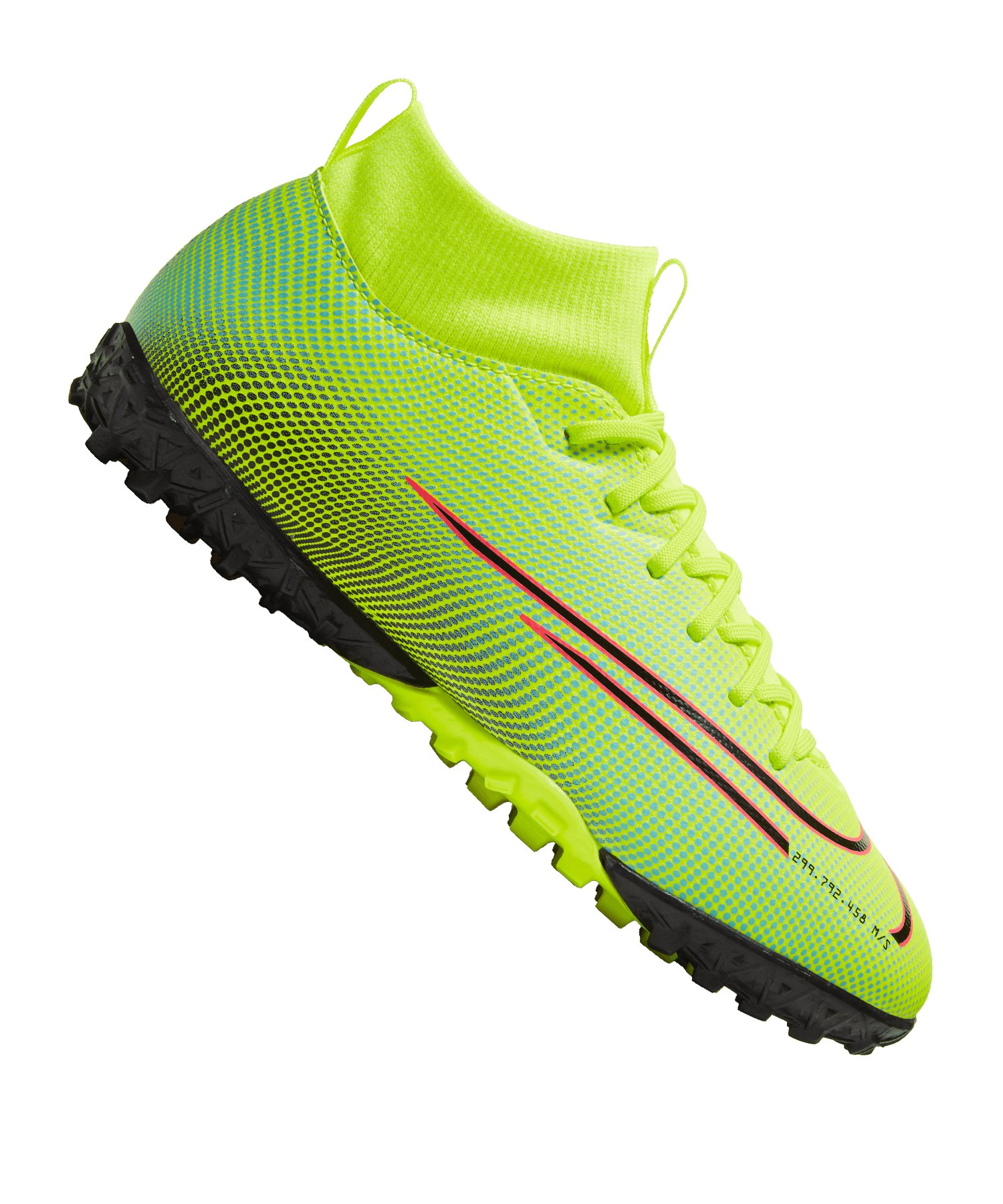 Nike Jr Mercurial Superfly VII Dreamspeed Academy TF Kids Gelb F703 - gelb