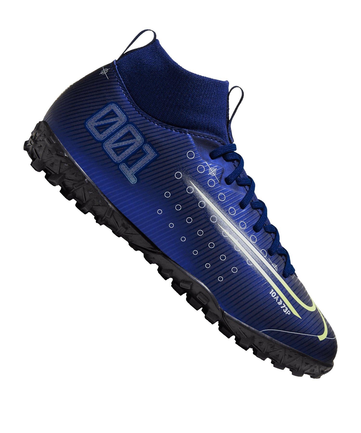 Nike Mercurial Superfly VII Dreamspeed Academy TF Kids Blau F401 - blau